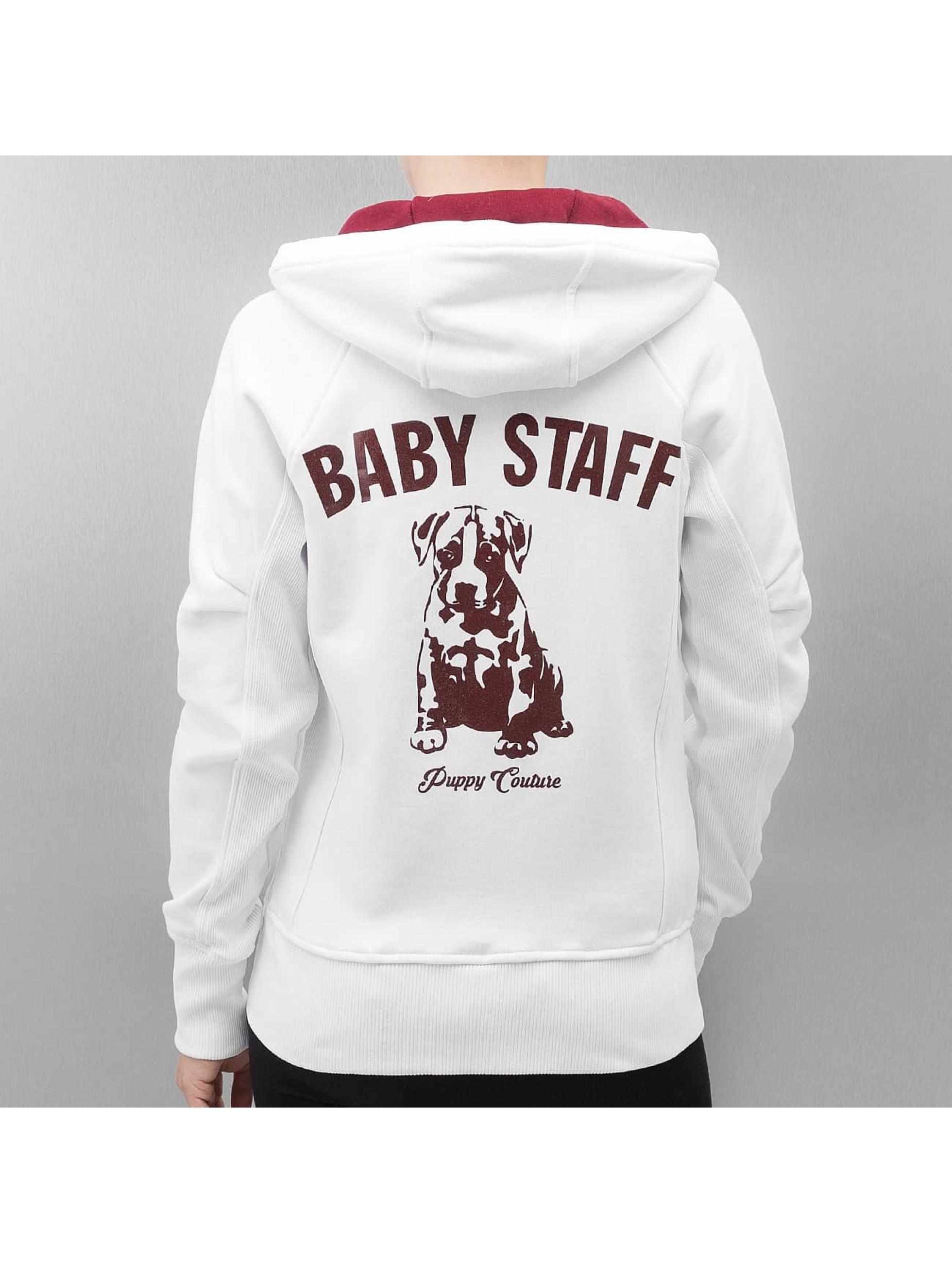Babystaff Zip Hoodie Sideka biela