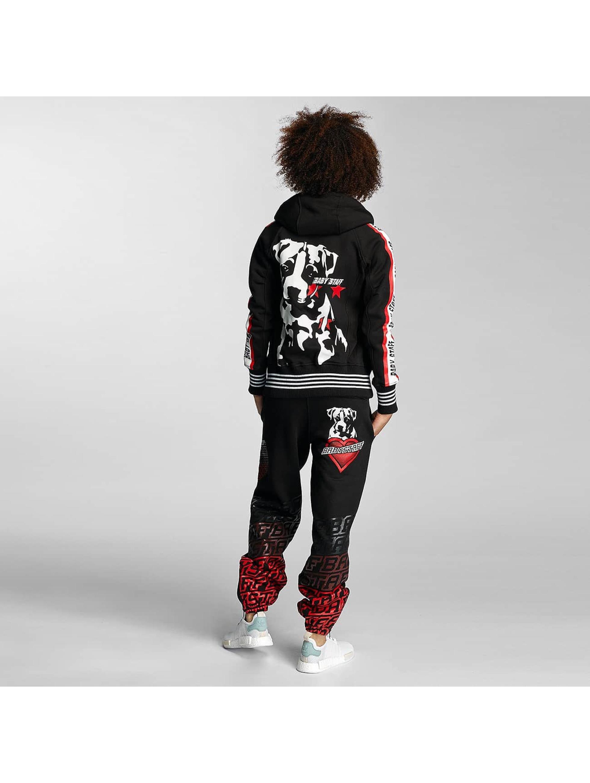 Babystaff Zip Hoodie Weloo black