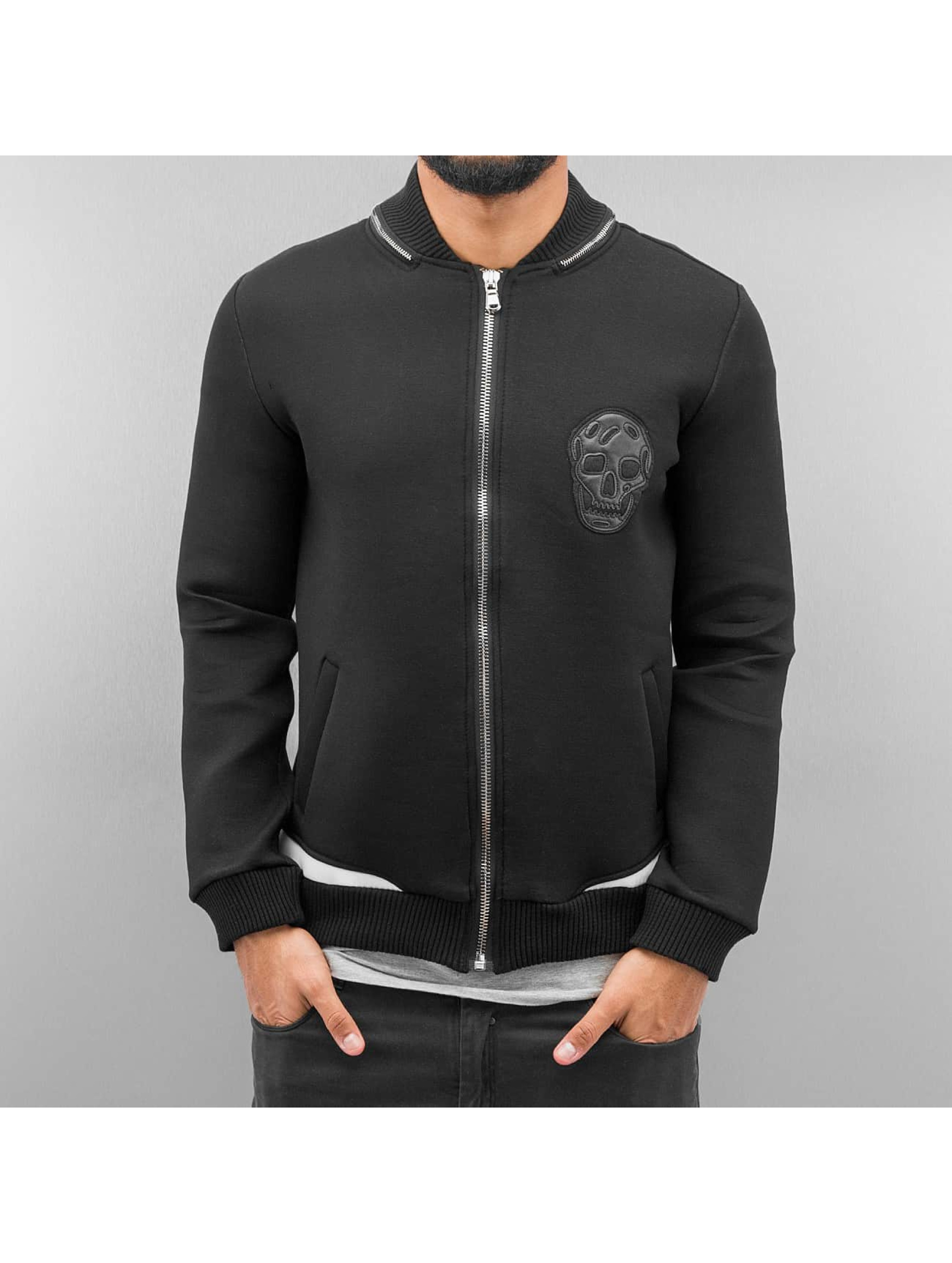 Bangastic Демисезонная куртка Skull черный