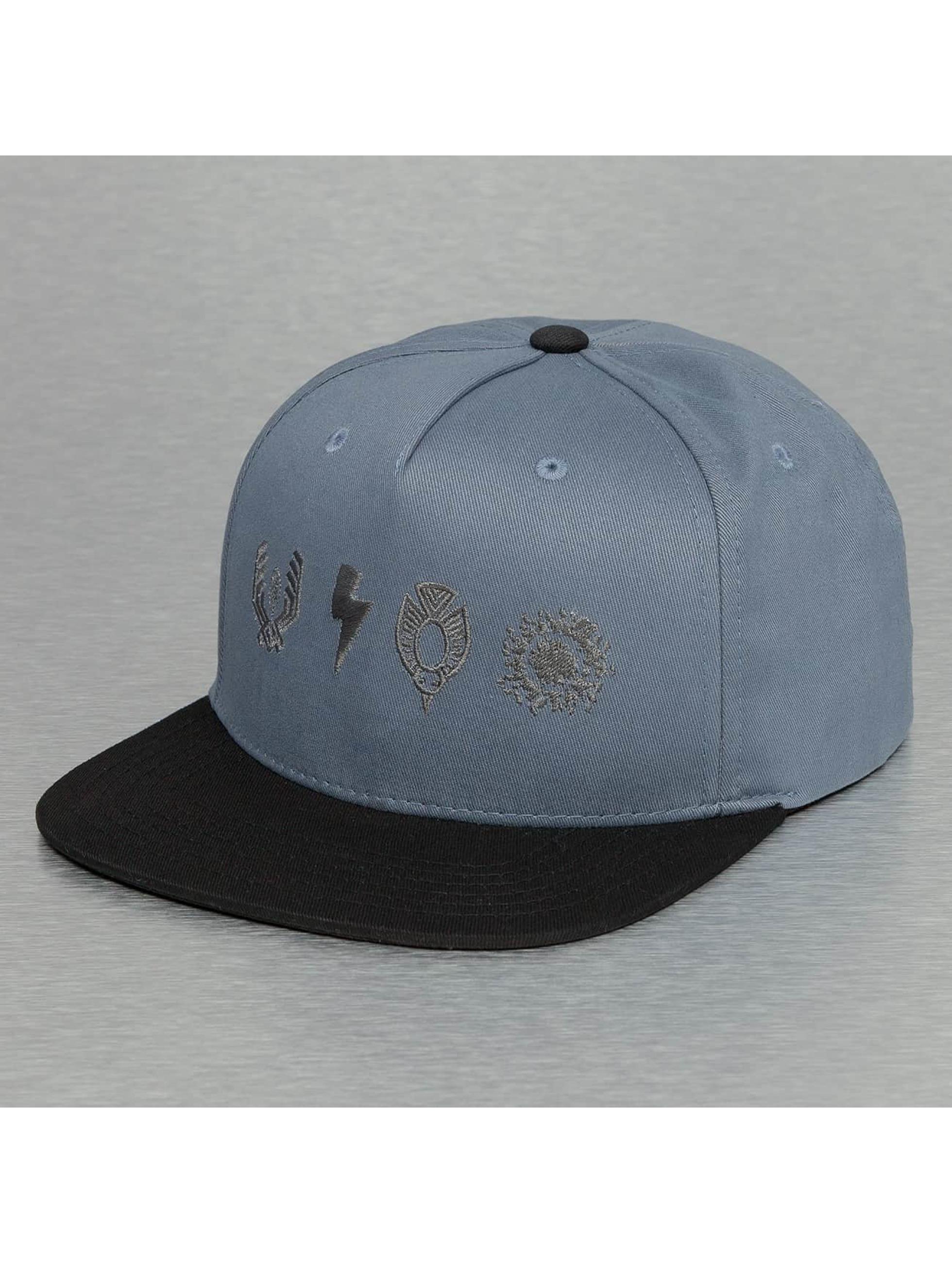 Bangastic Кепка с застёжкой Logos синий
