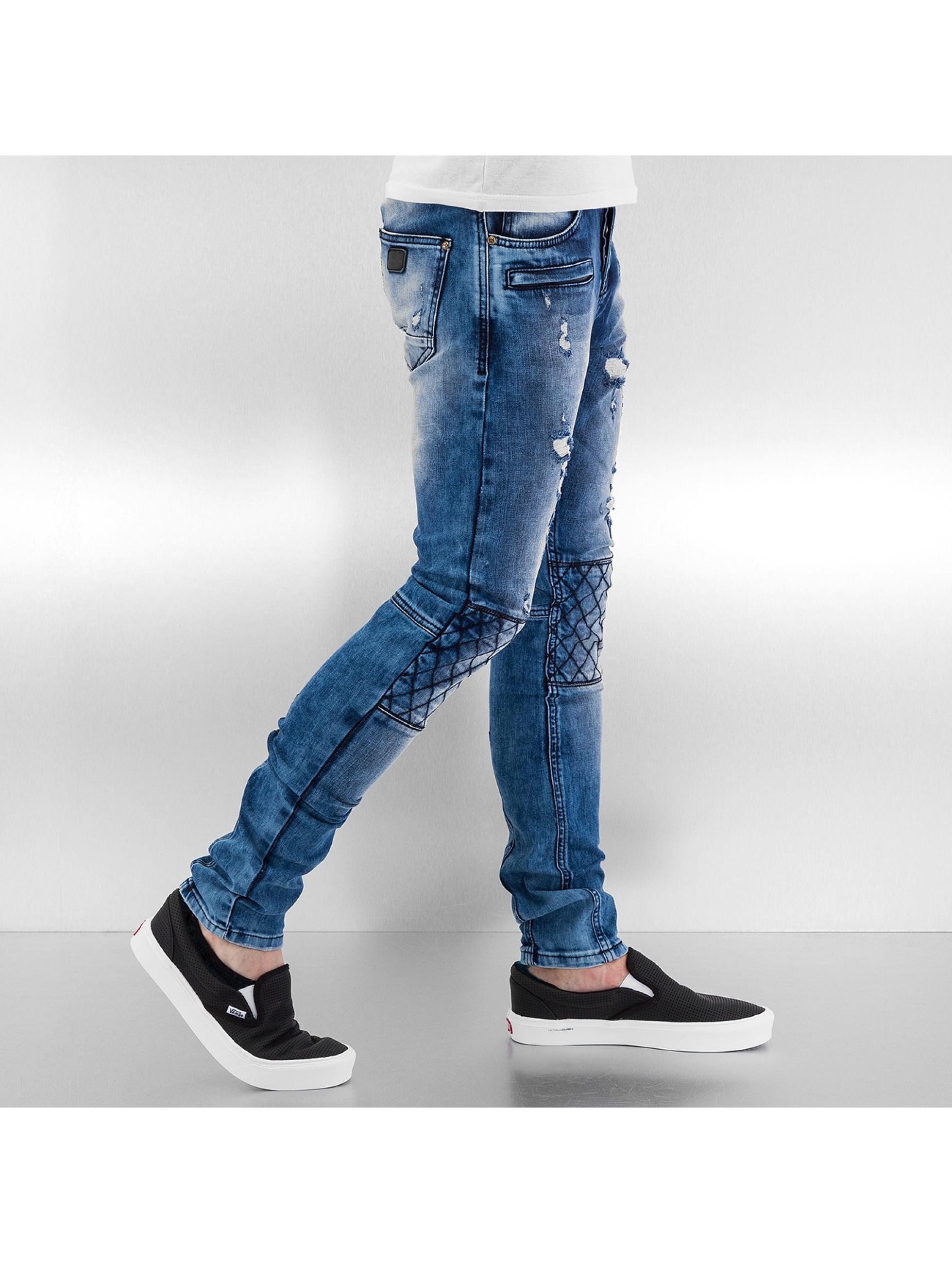 Bangastic Облегающие джинсы Diamond синий