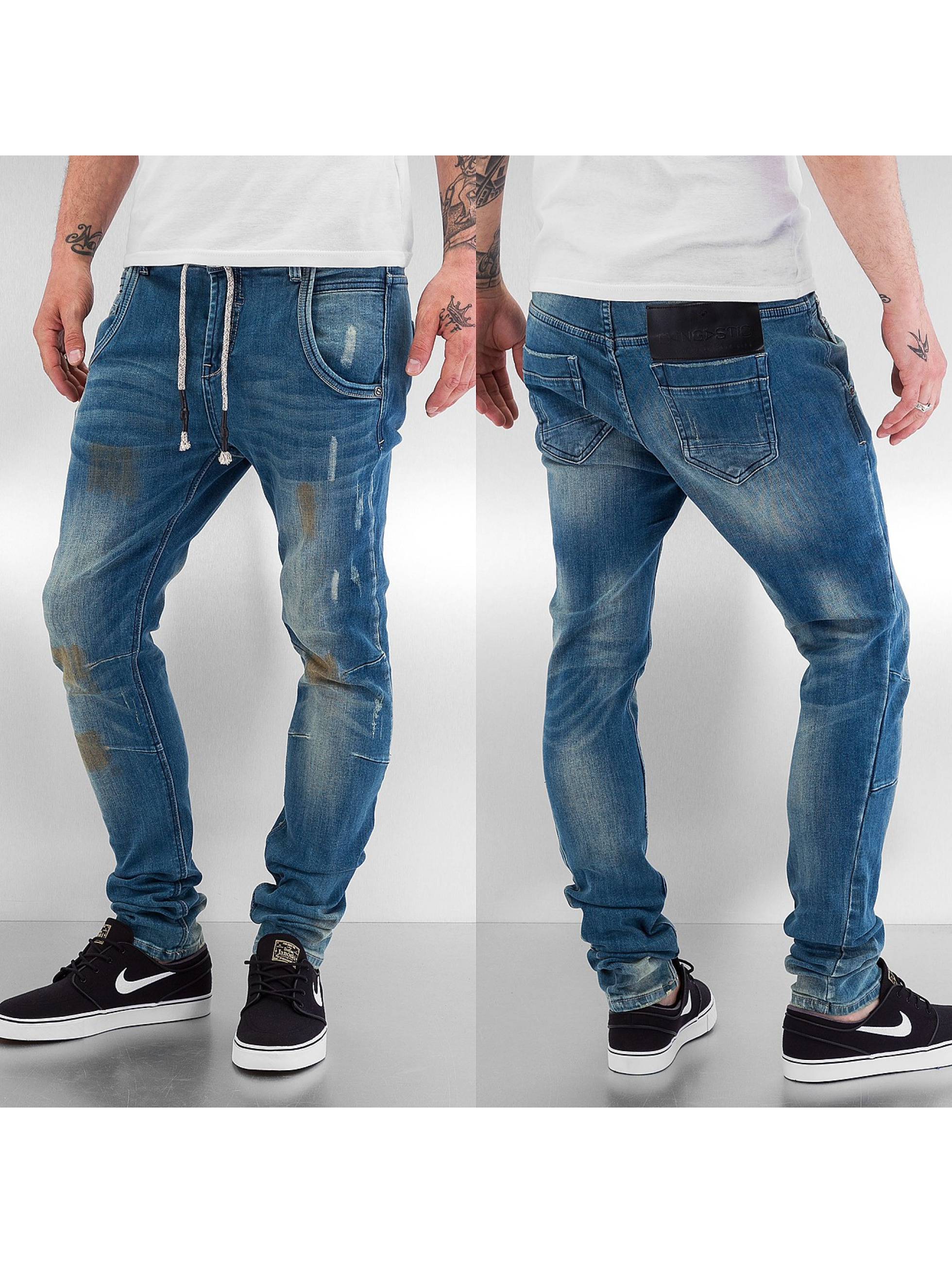 Bangastic Облегающие джинсы Mamoru II синий