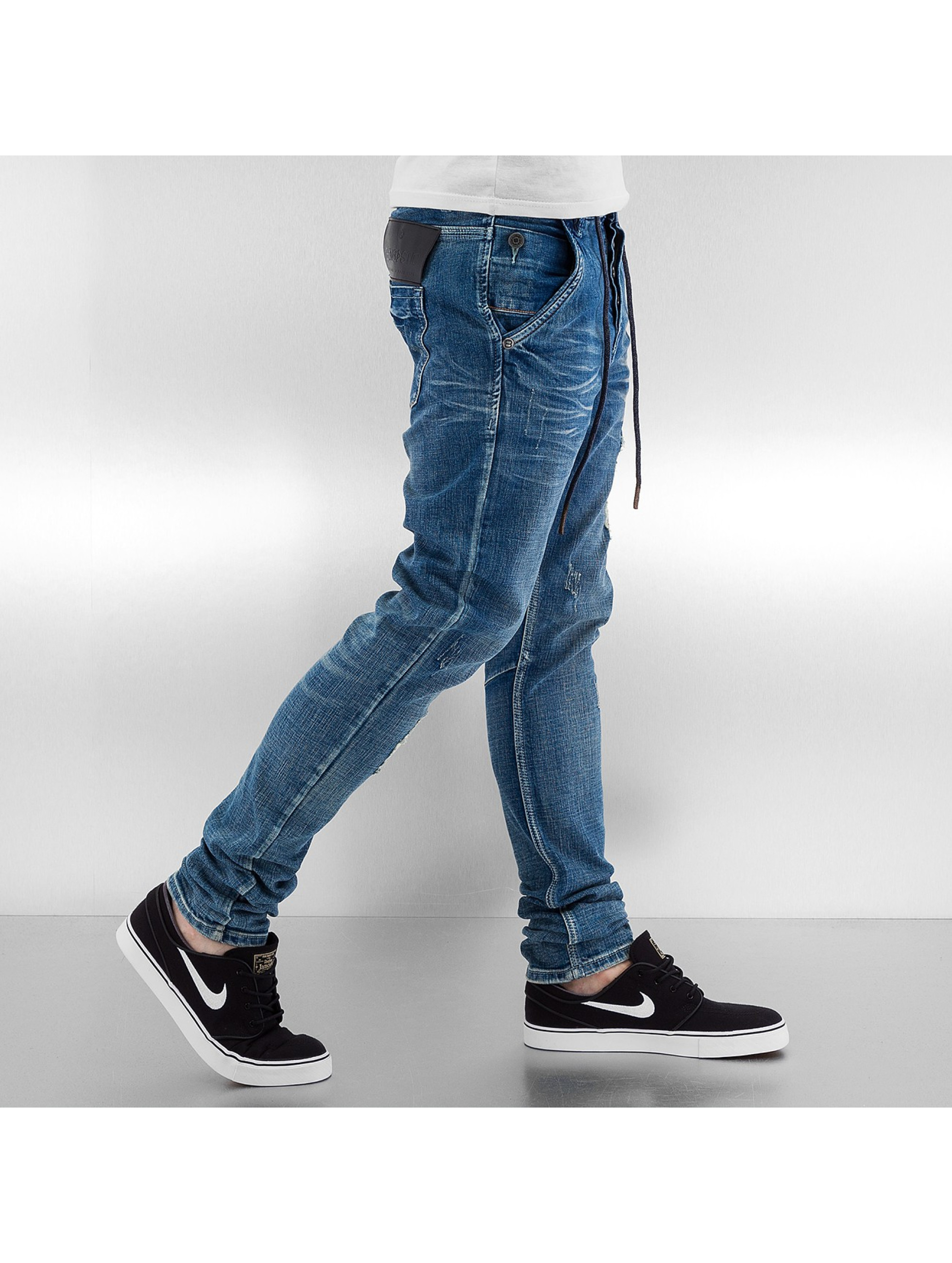 Bangastic Облегающие джинсы Mamoru синий