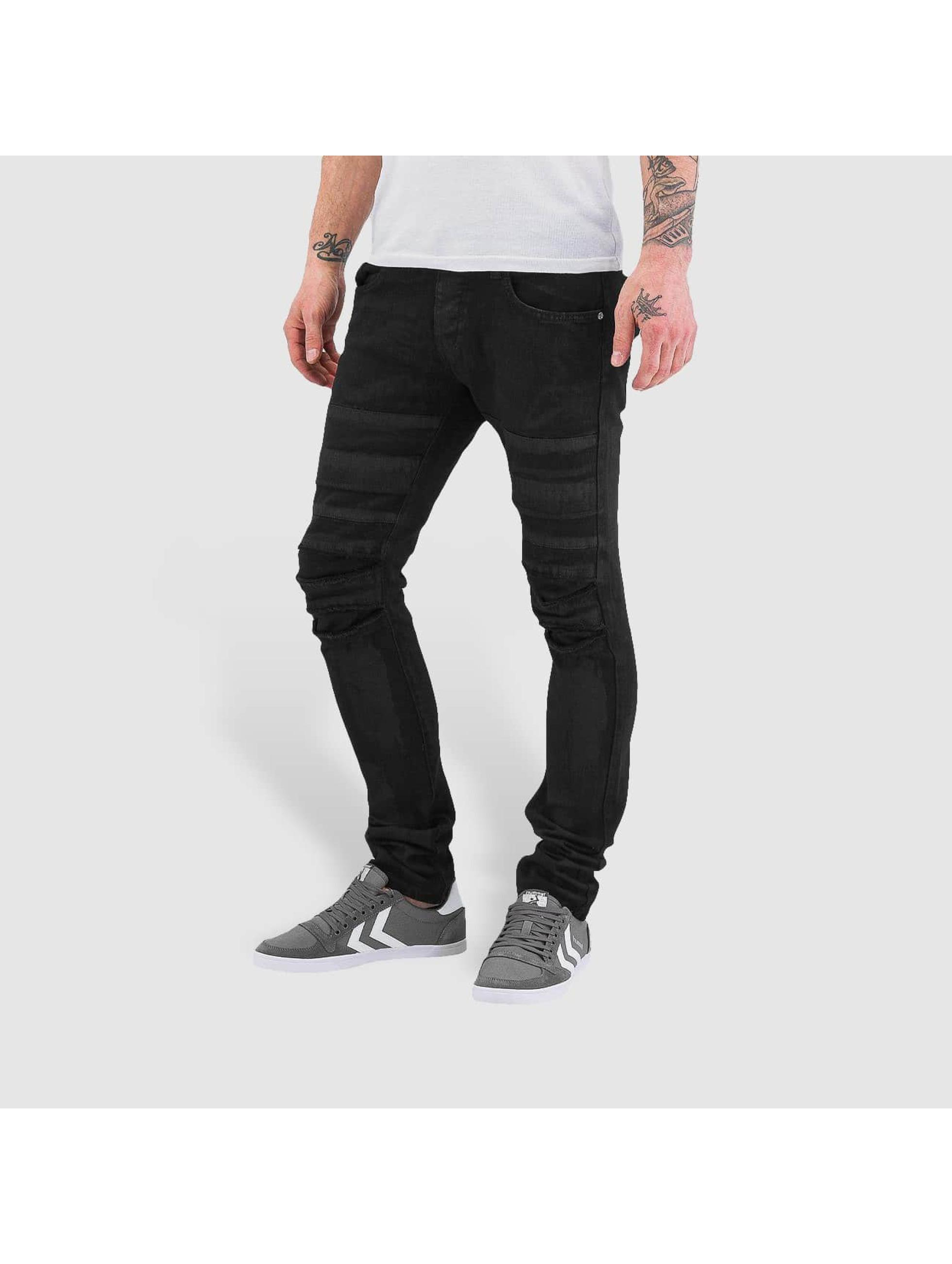 Bangastic Облегающие джинсы Printed черный