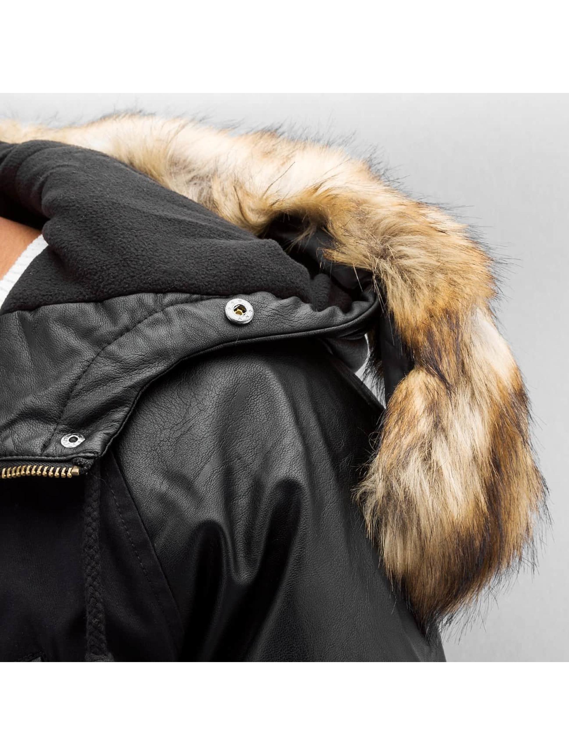 Bangastic Пальто PU Sleeves черный