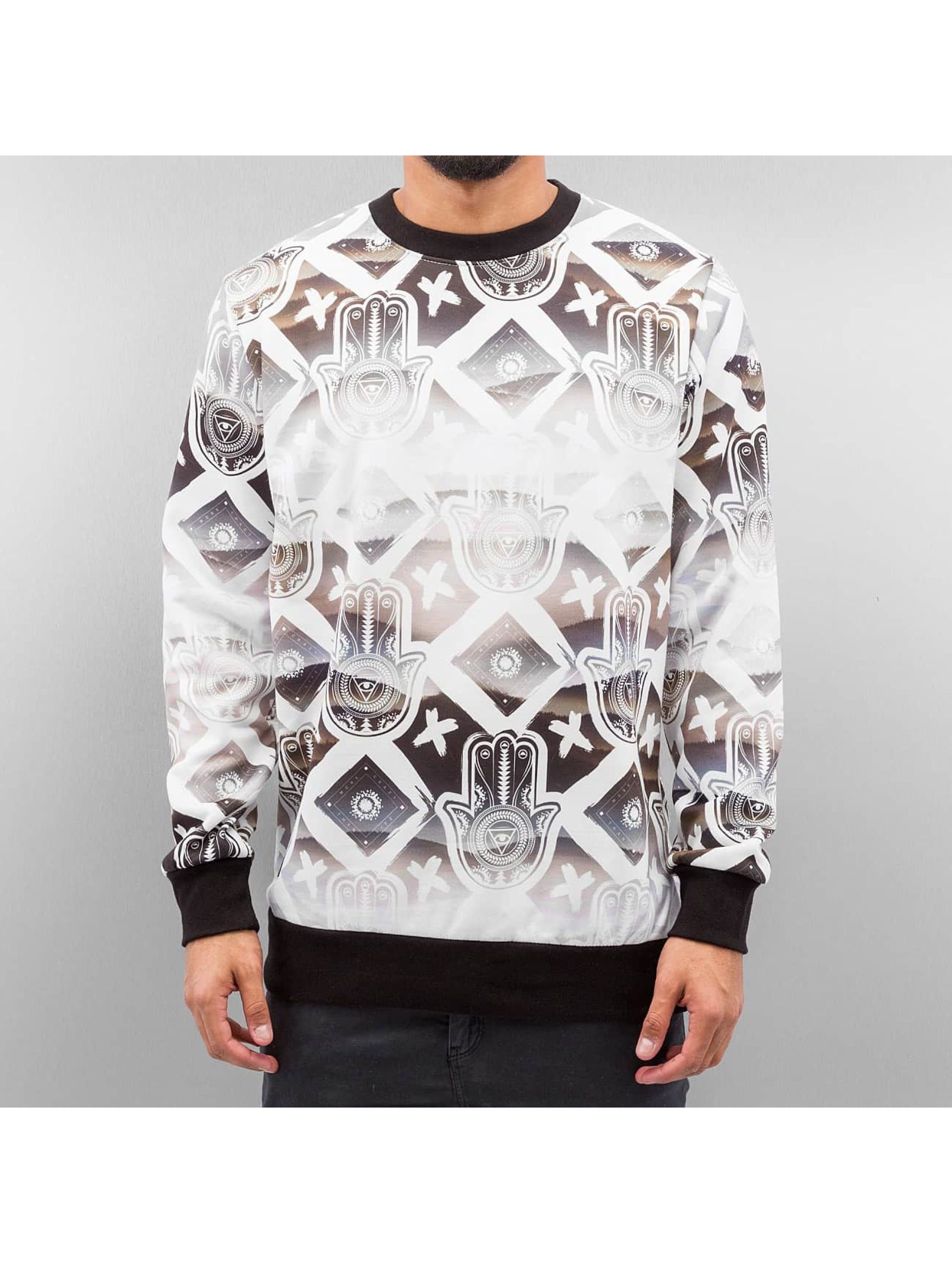 Bangastic Пуловер Hand белый