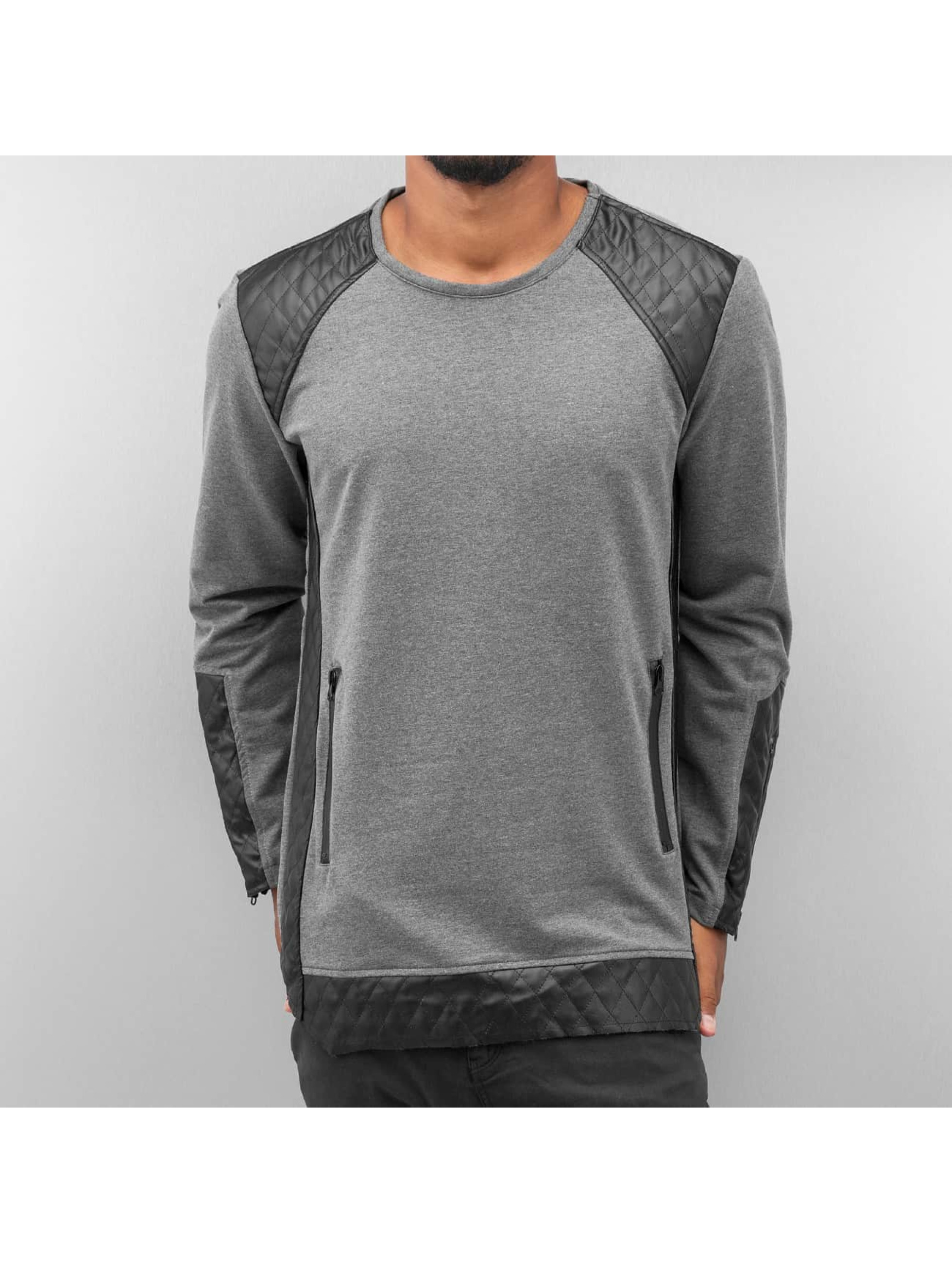 Bangastic Пуловер Quilt серый