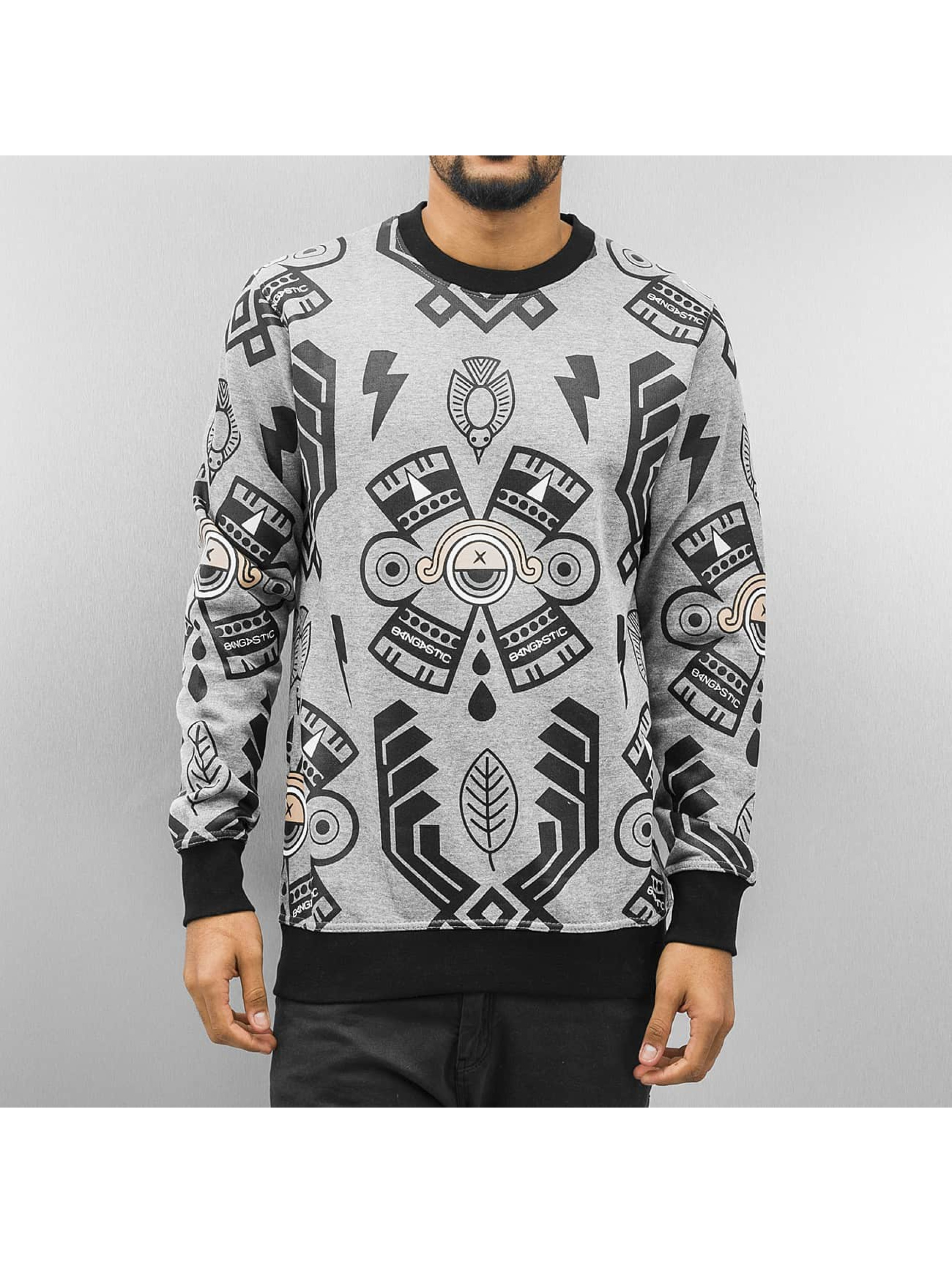 Bangastic Пуловер Xaver серый