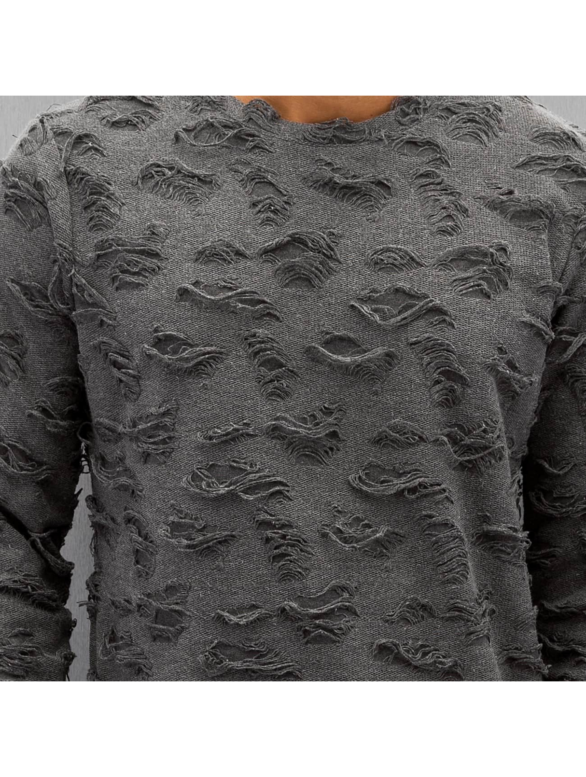 Bangastic Пуловер Hakeem серый