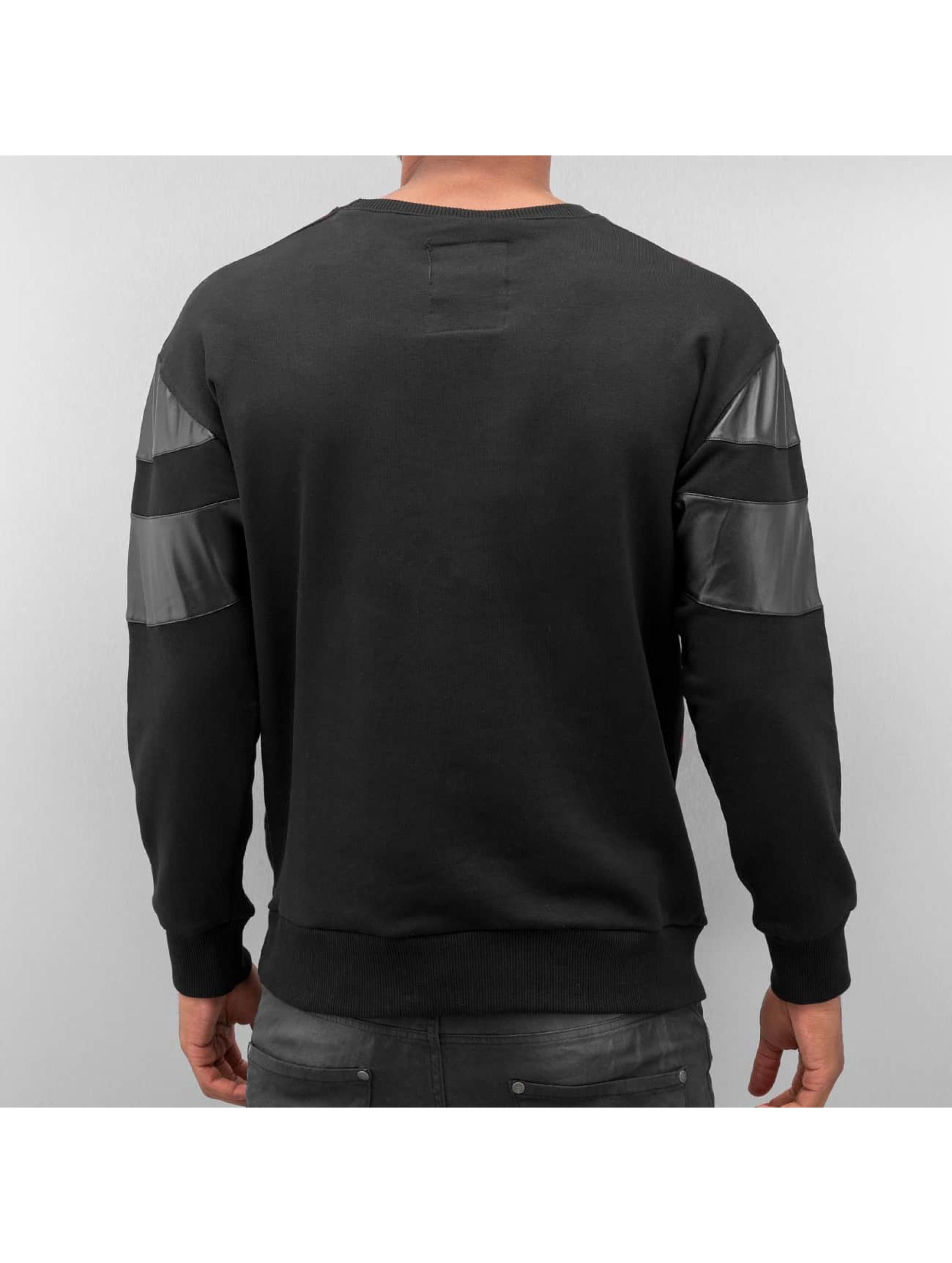 Bangastic Пуловер Plaid черный