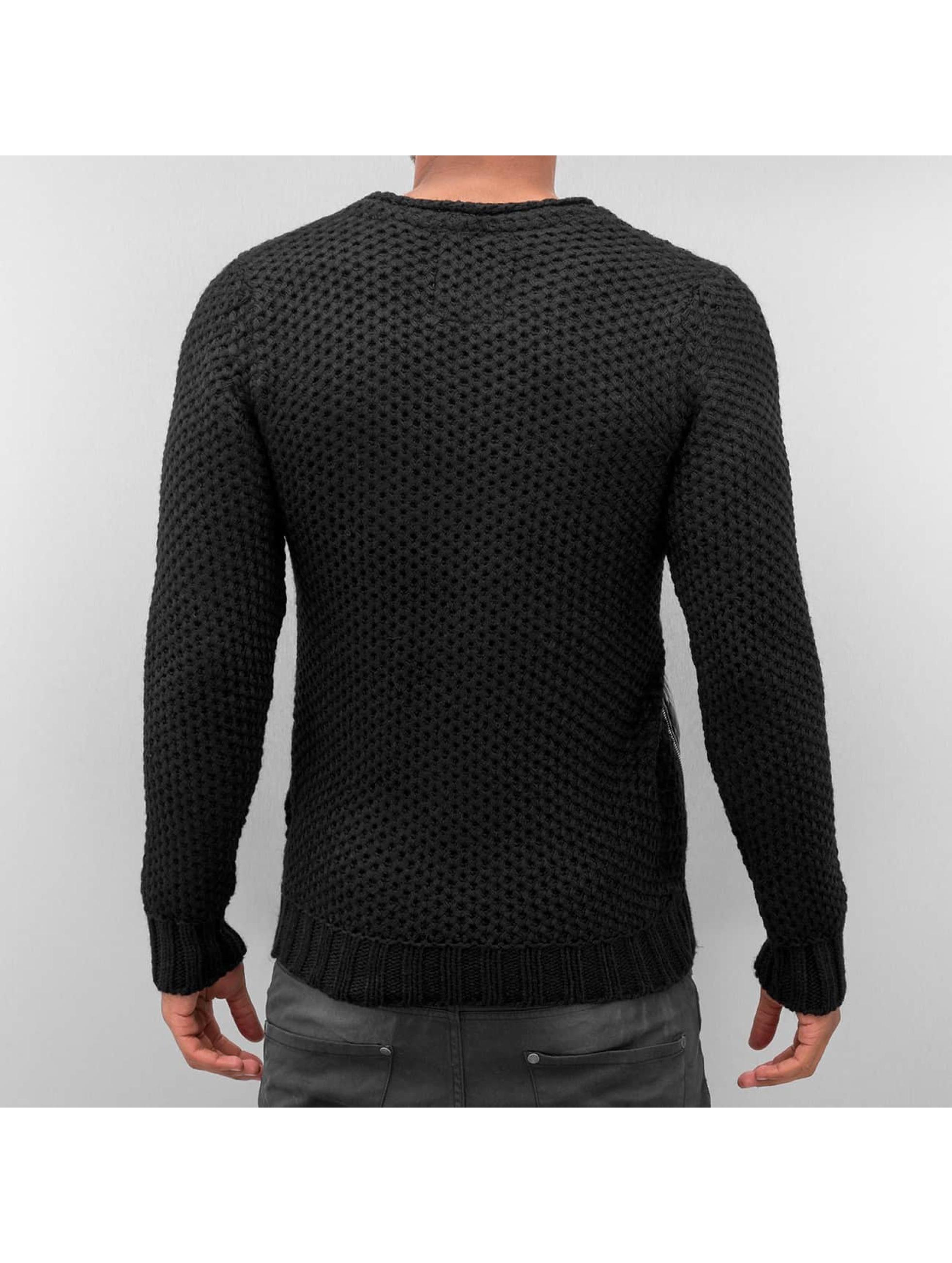 Bangastic Пуловер Quilt черный