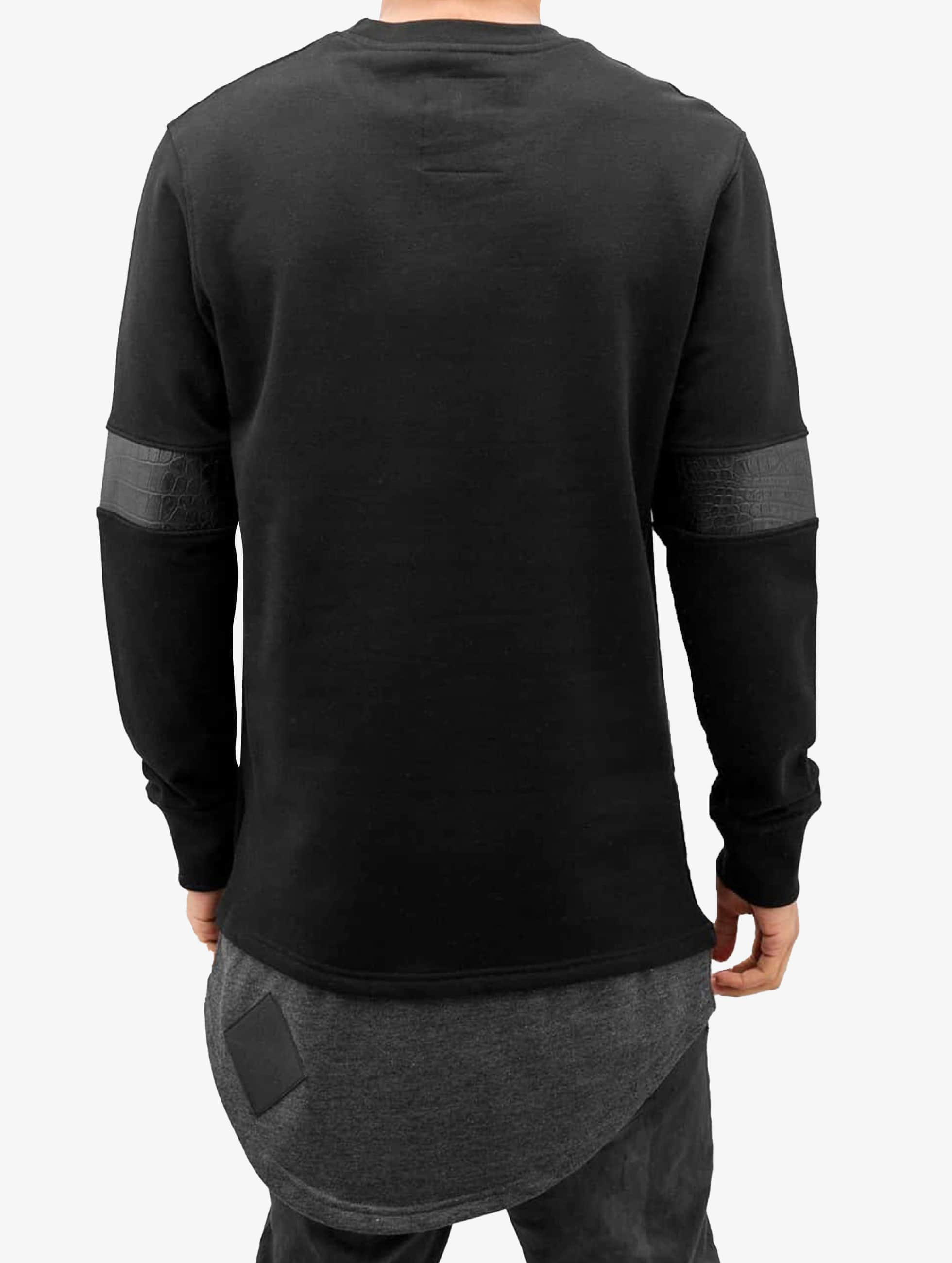 Bangastic Пуловер Crocodile черный