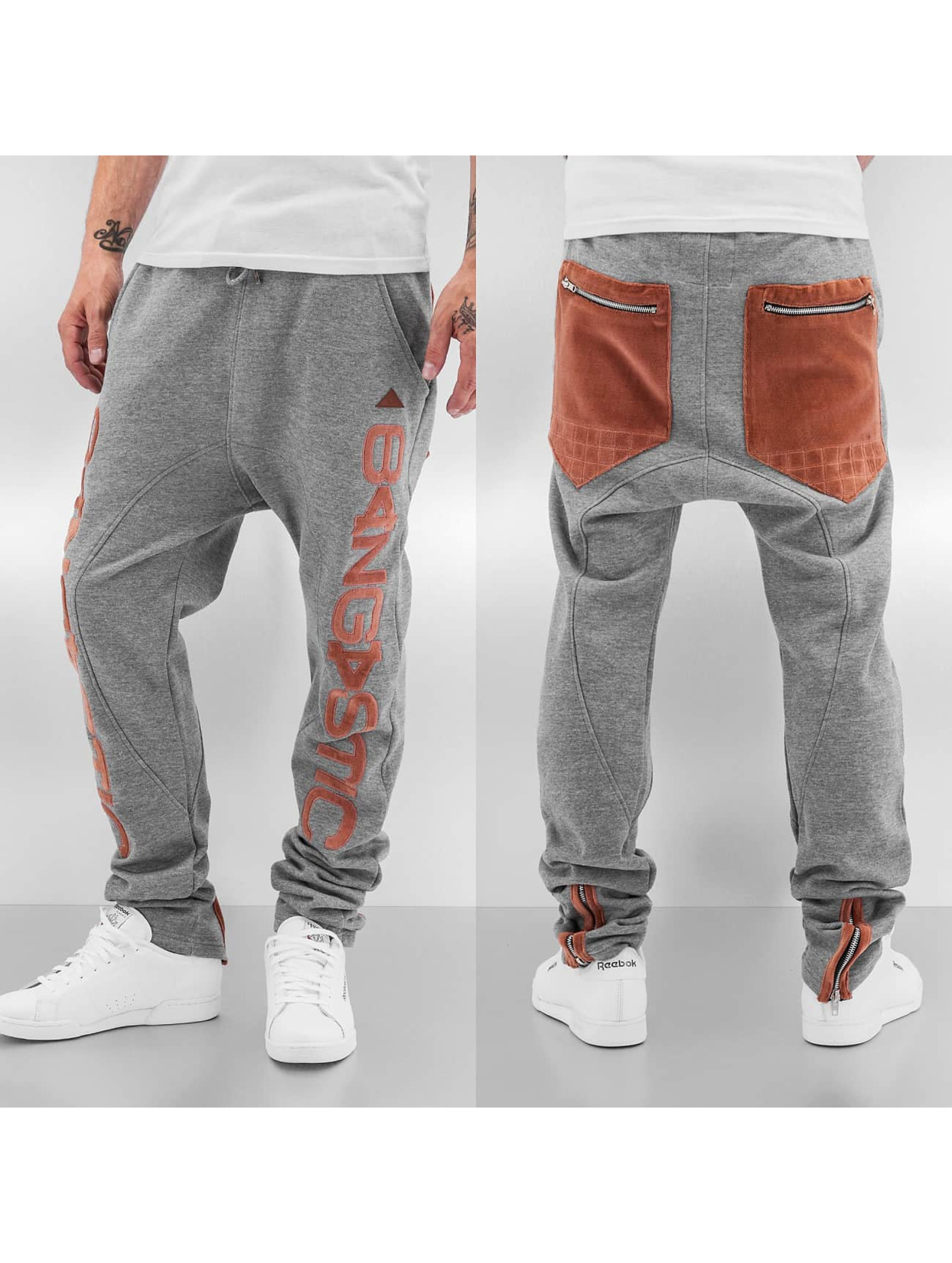 Bangastic Спортивные брюки Big Logo серый