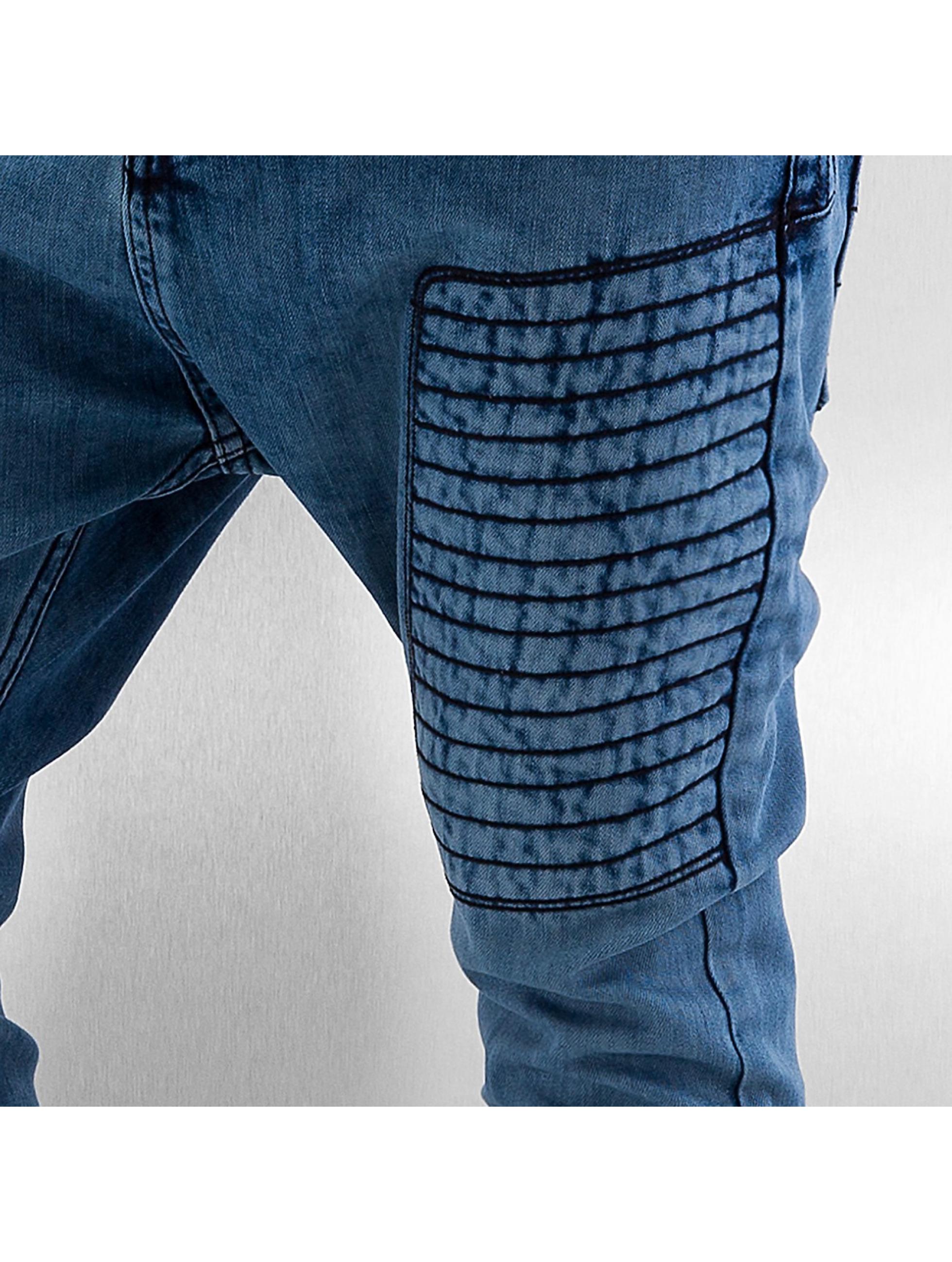 Bangastic Antifit-farkut Embroidery sininen