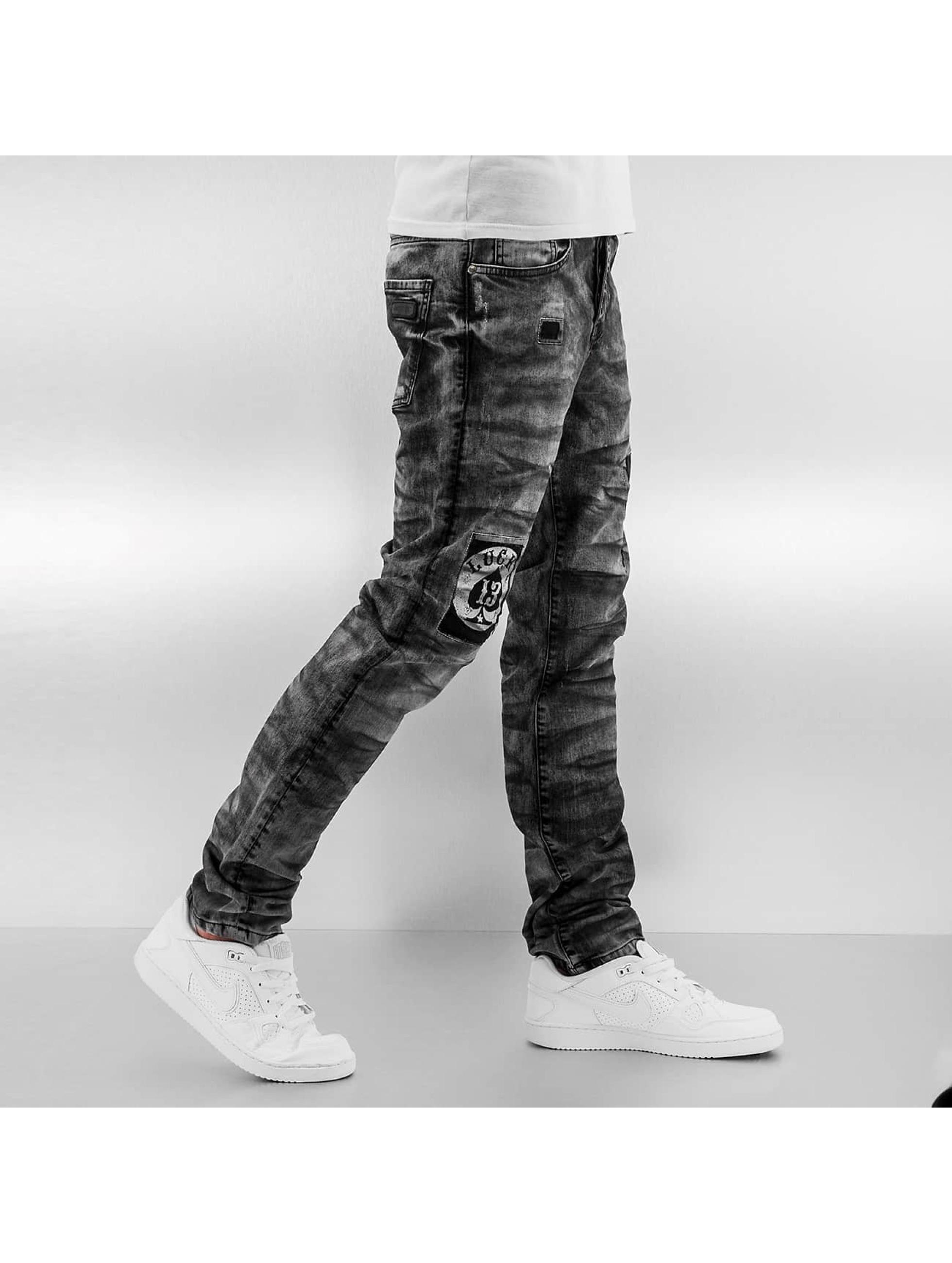 Bangastic Antifit jeans Lucky 13 svart