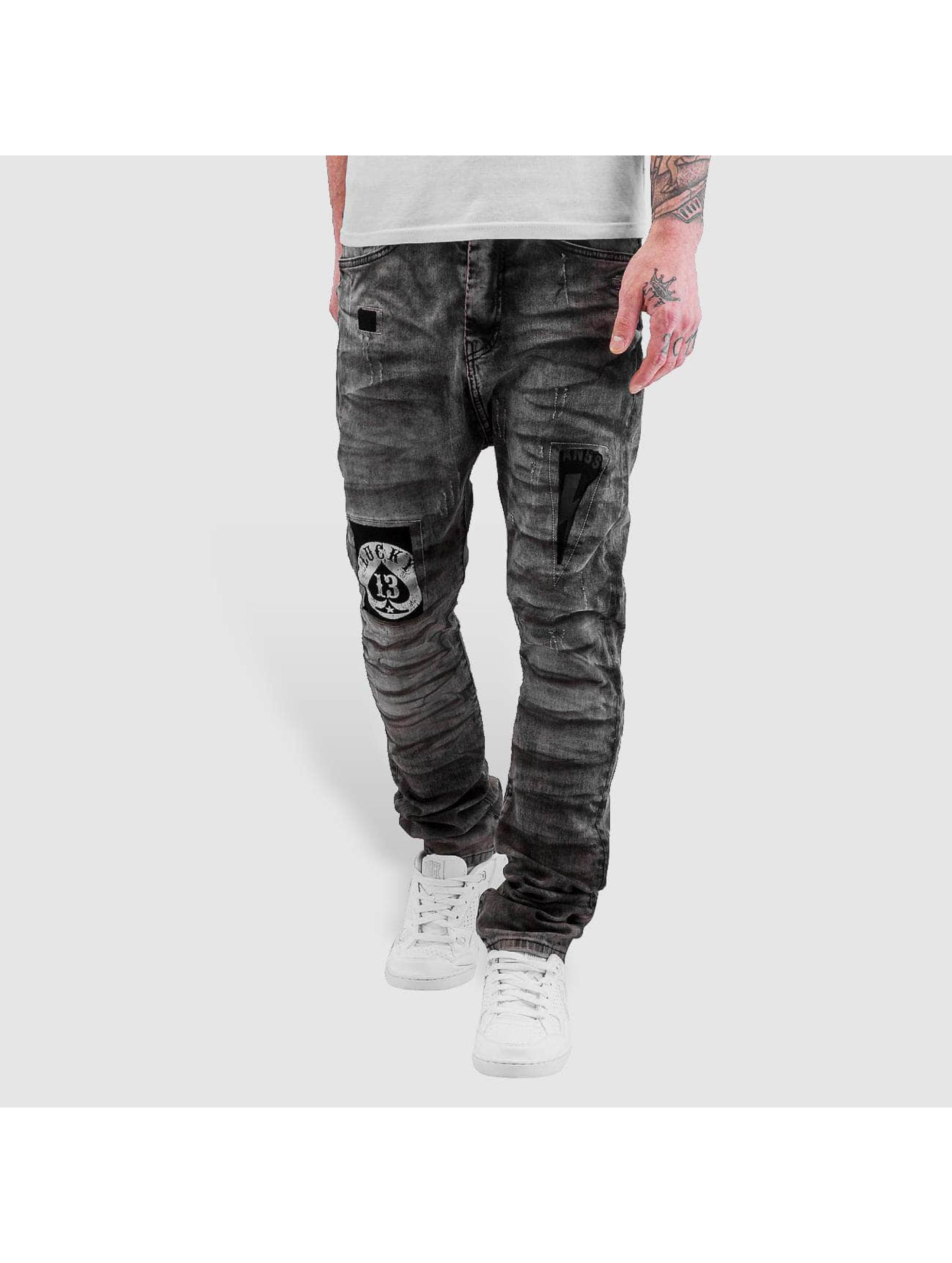 Bangastic Antifit jeans Lucky svart