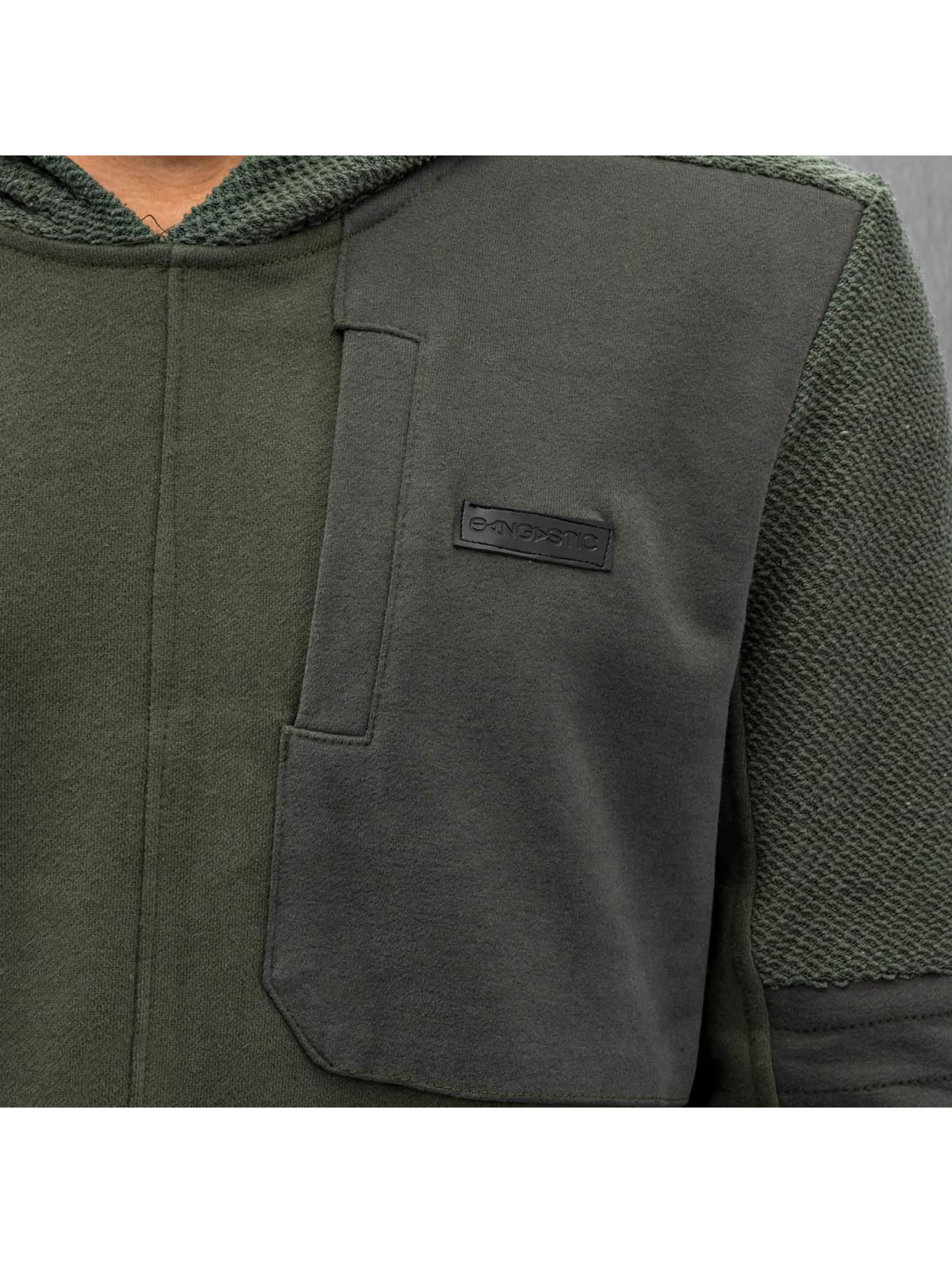 Bangastic Bluzy z kapturem Namur oliwkowy