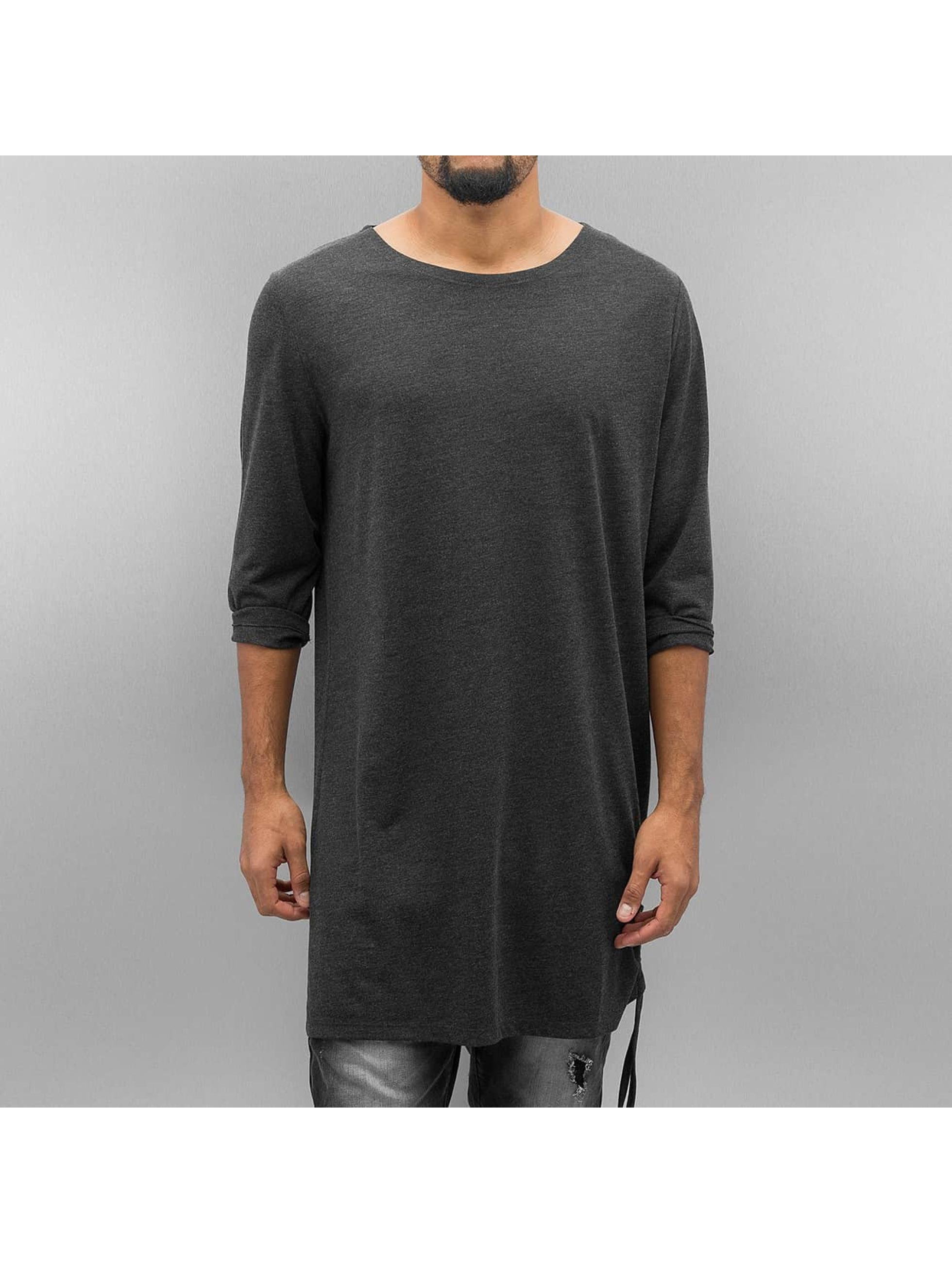 Bangastic Camiseta de manga larga Moak gris