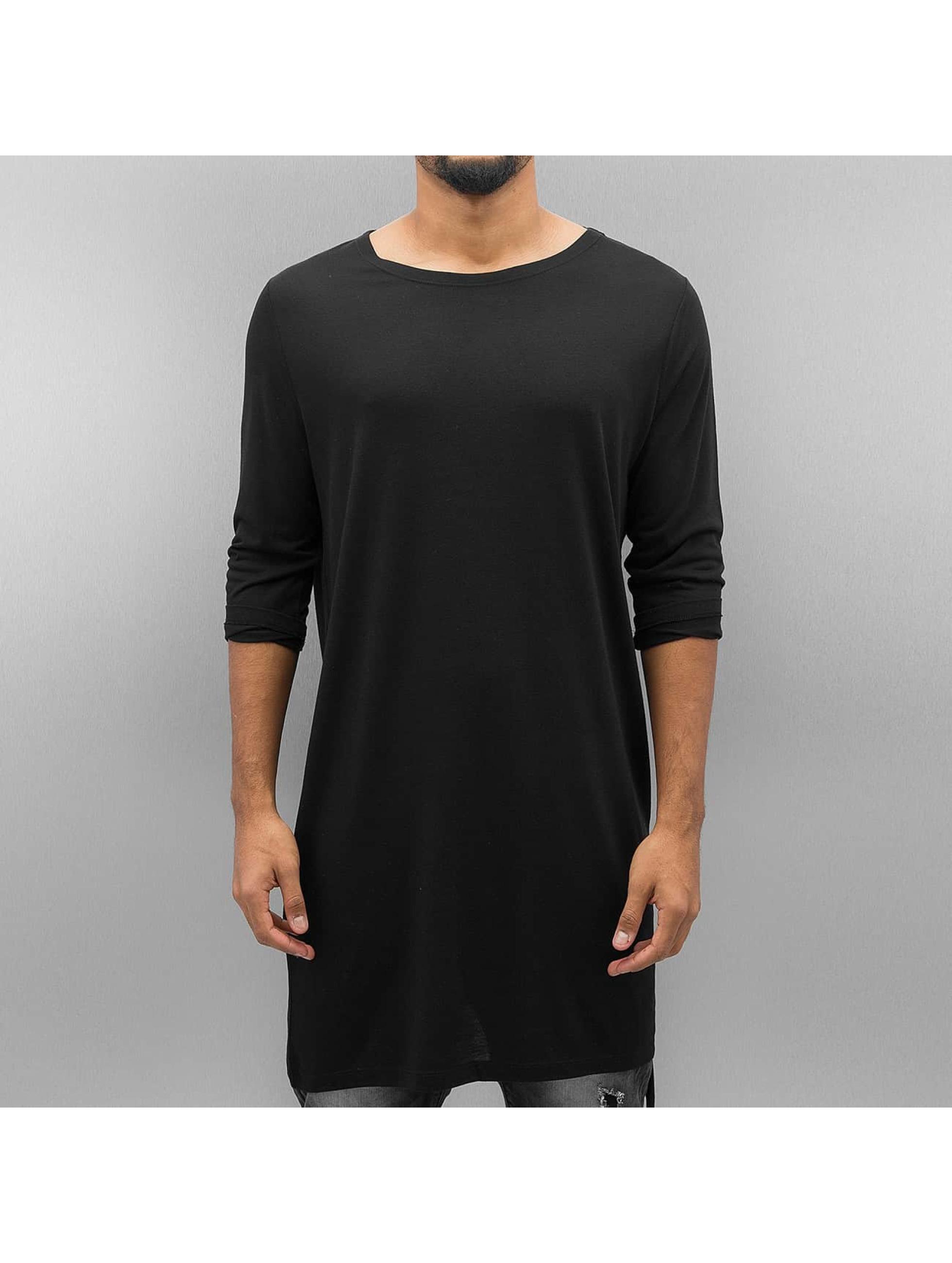 Bangastic Camiseta de manga larga Moak negro