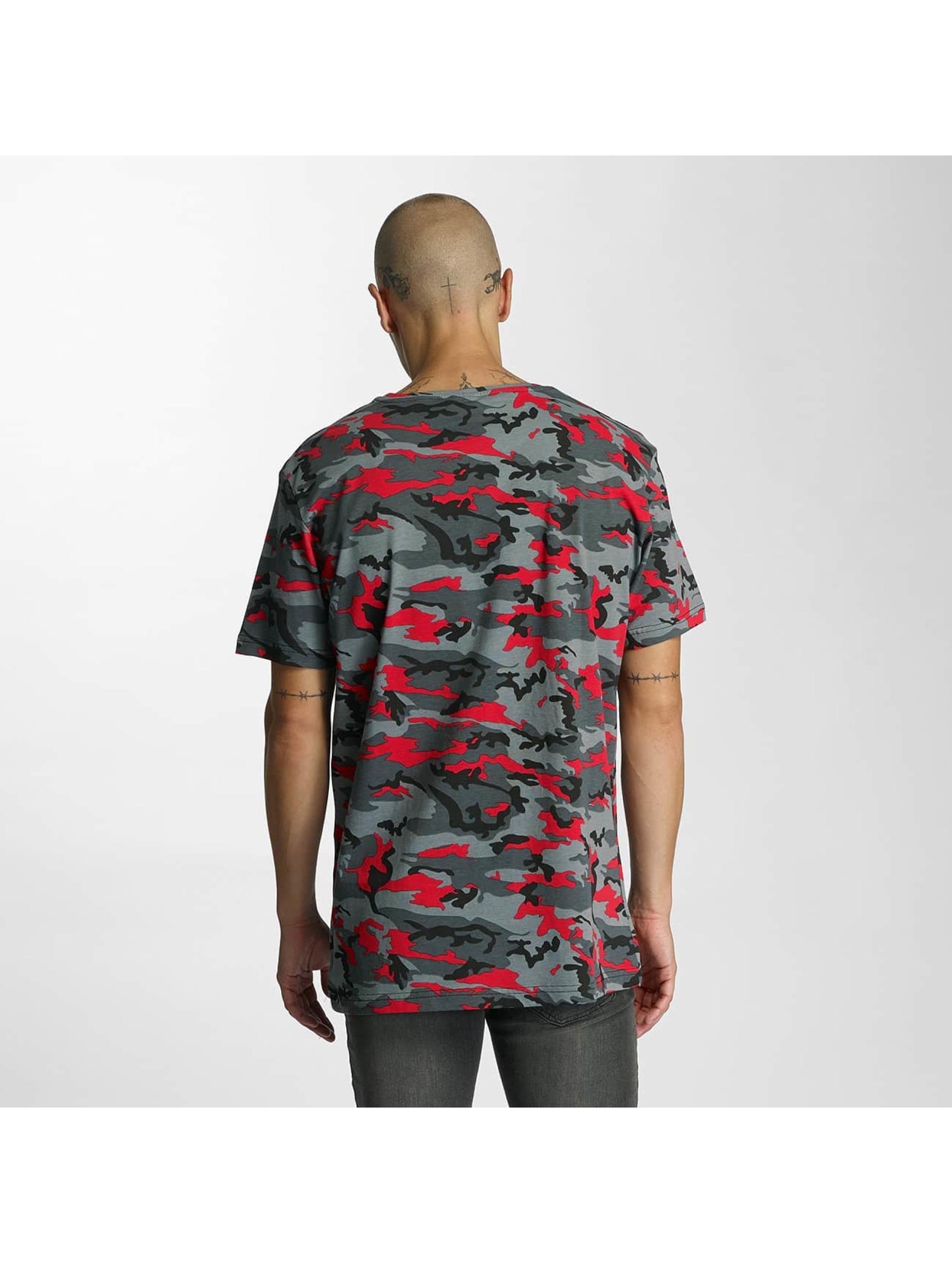 Bangastic Camiseta Camo rojo