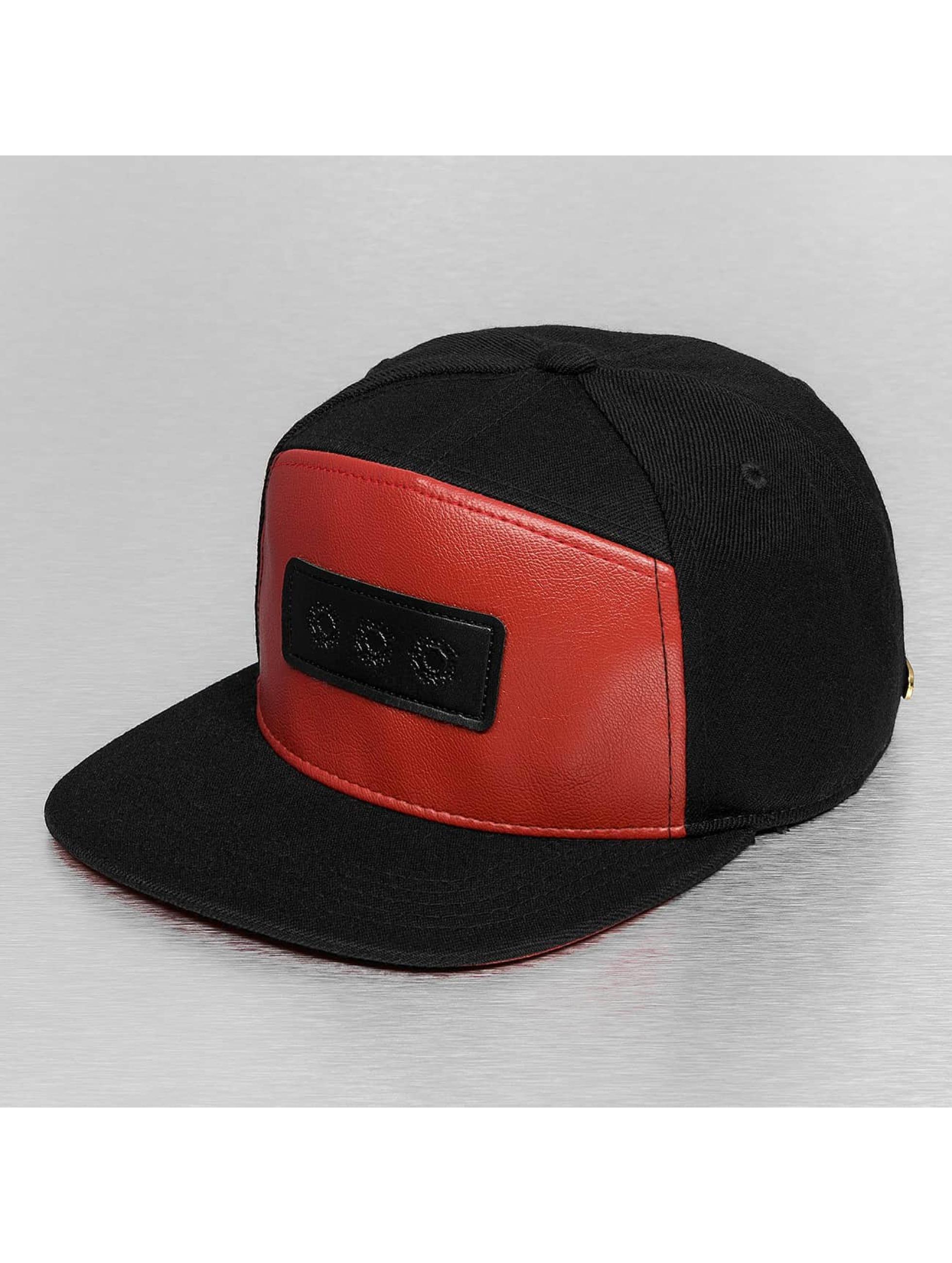 Bangastic Casquette Snapback & Strapback PU Logo II noir