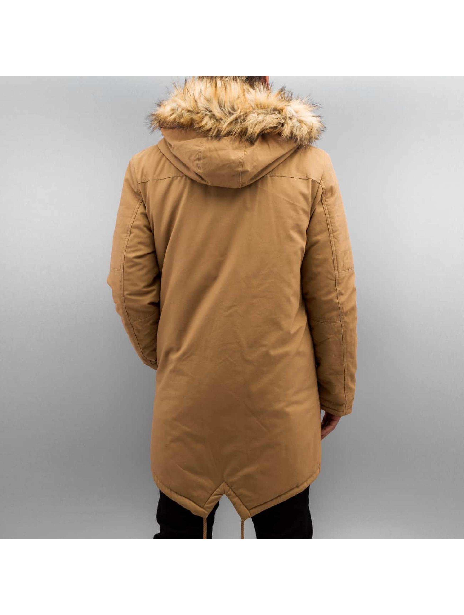 Bangastic Ceketler-1 Fake Fur kahverengi