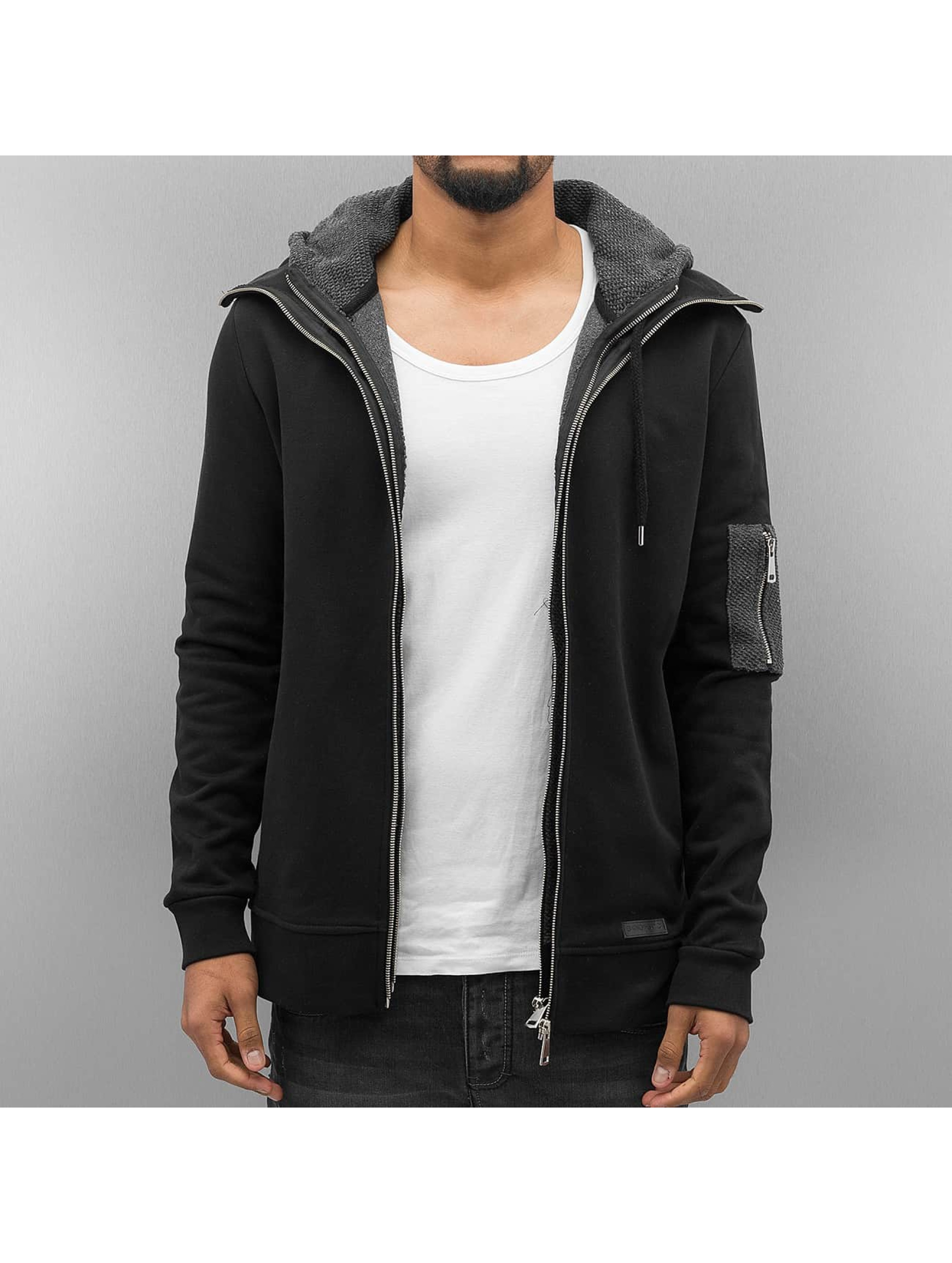 Bangastic Hoodies con zip Double nero