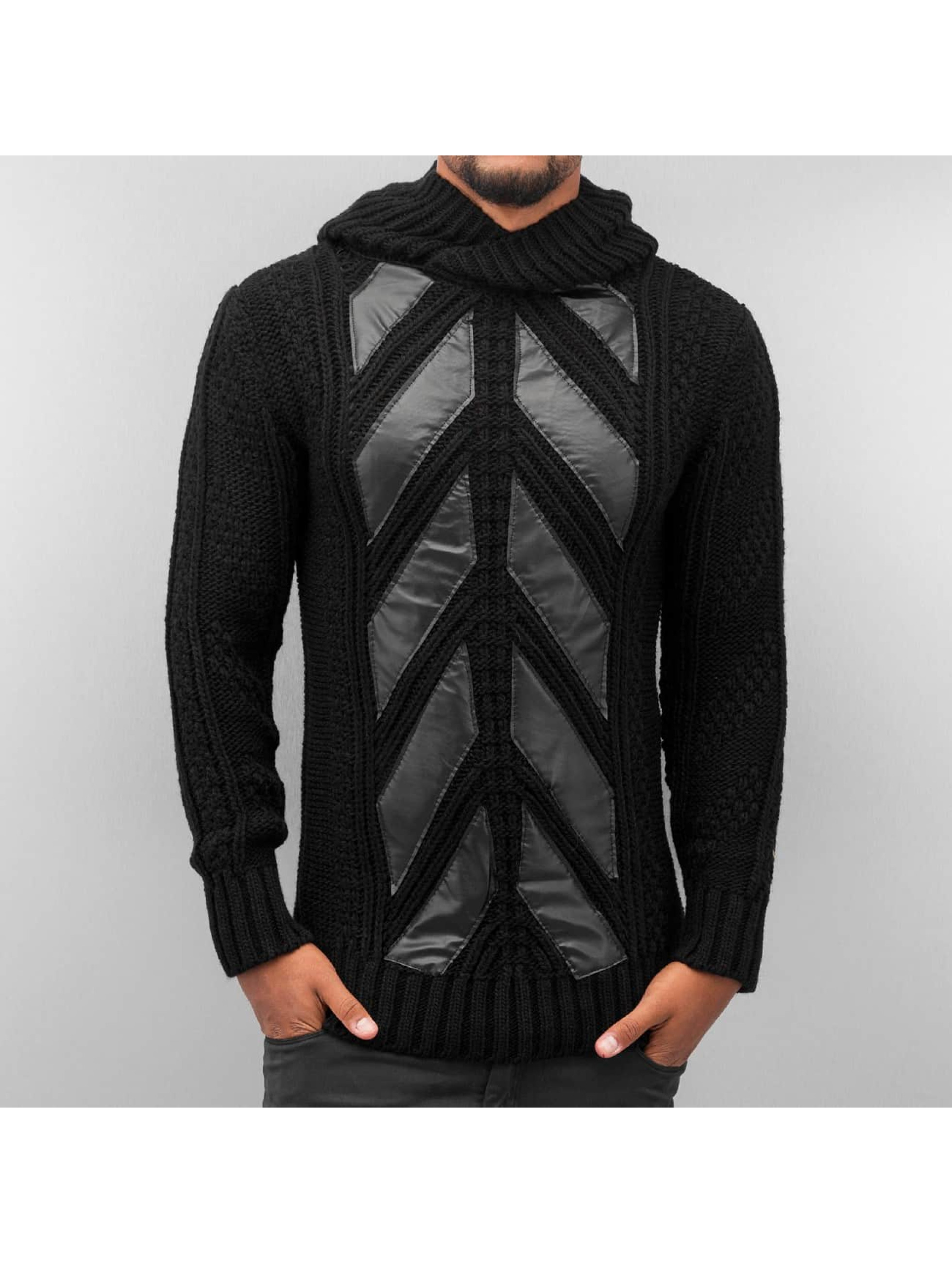 Bangastic Hoody Knitted schwarz