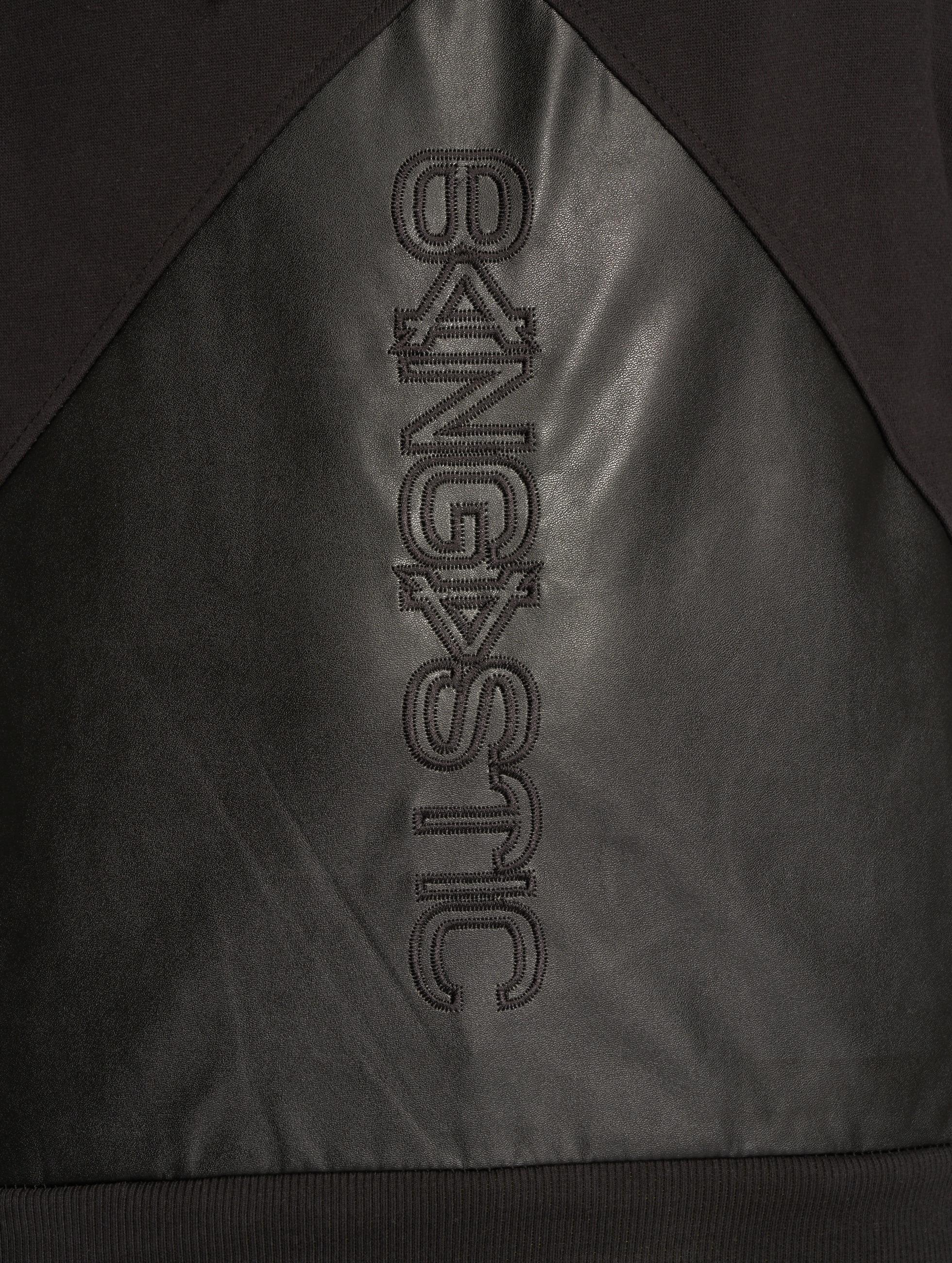 Bangastic Hoody Logo PU zwart