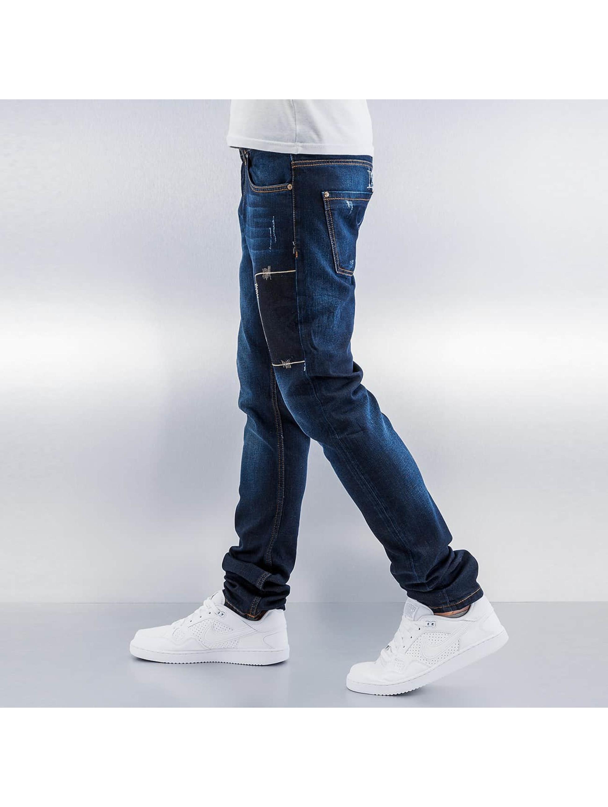 Bangastic Jean coupe droite Fonder bleu