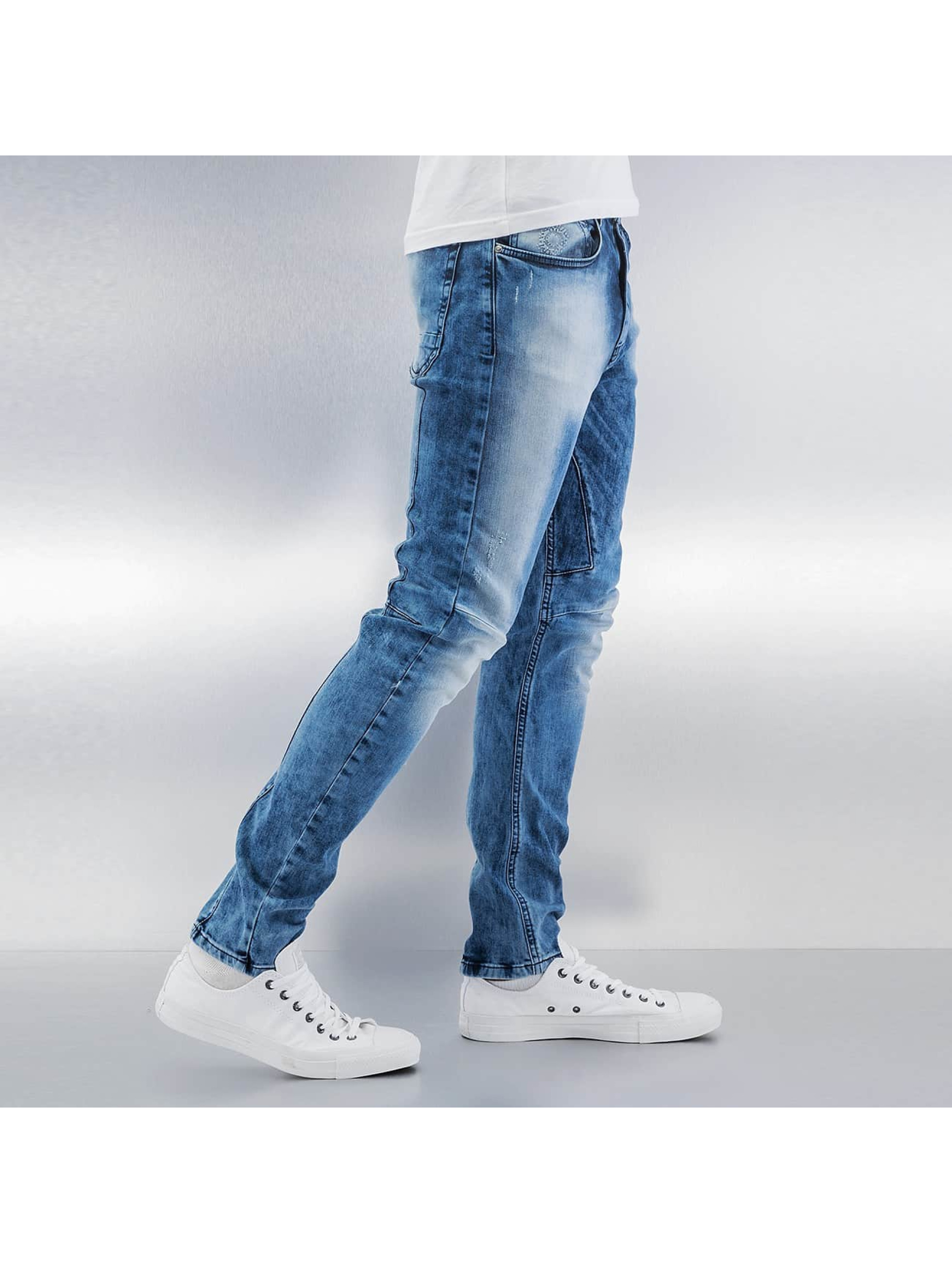 Bangastic Jean coupe droite Haruko bleu