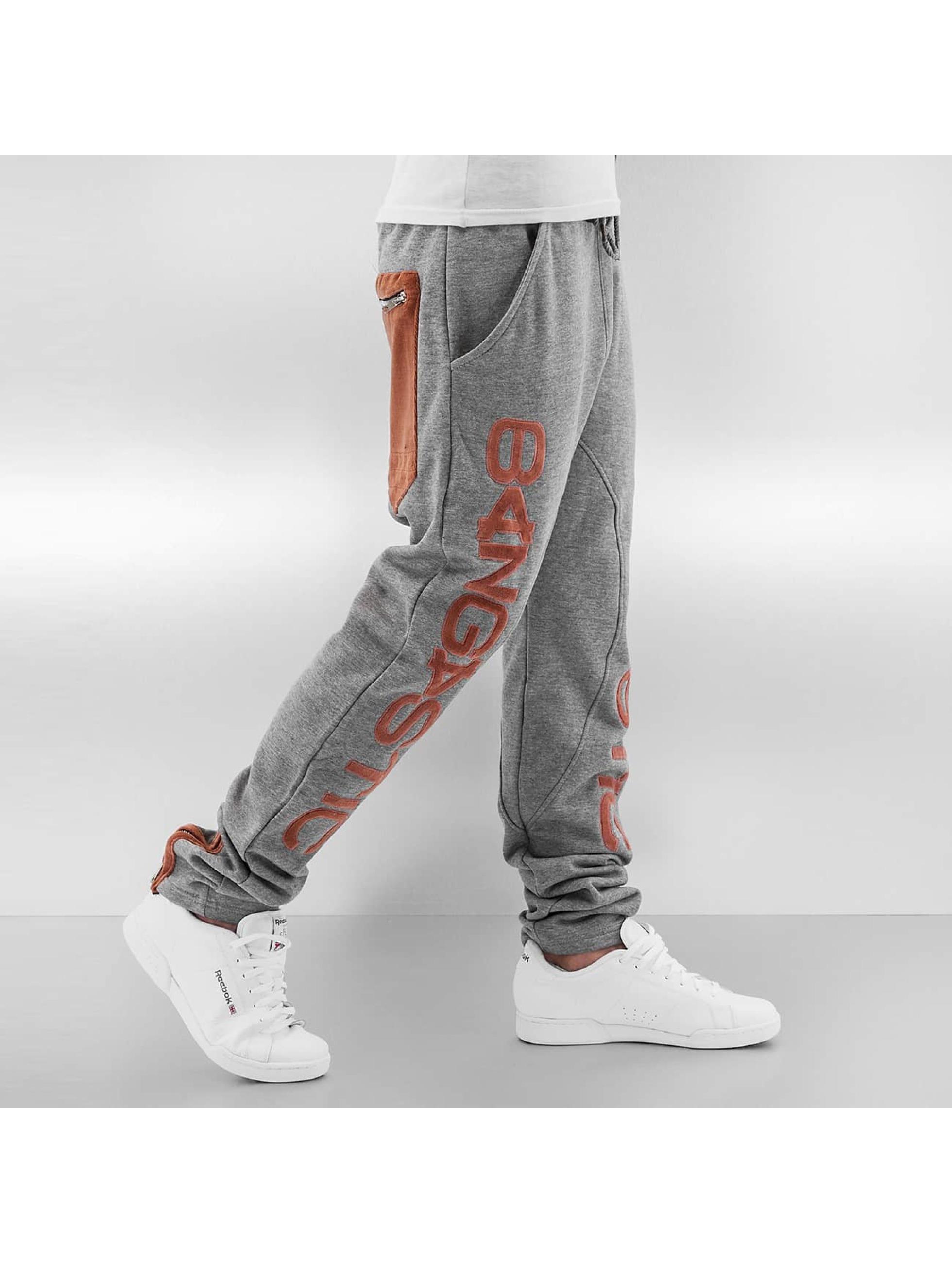 Bangastic joggingbroek Big Logo grijs