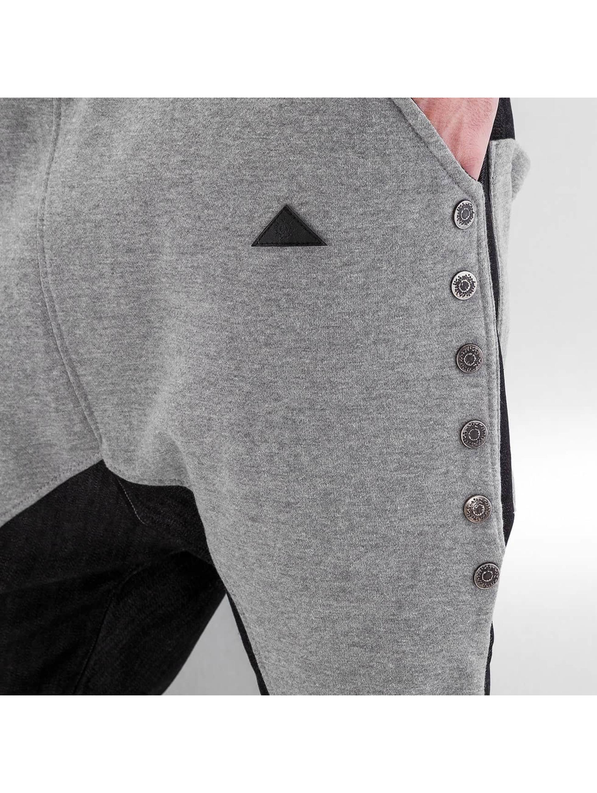 Bangastic joggingbroek Button grijs