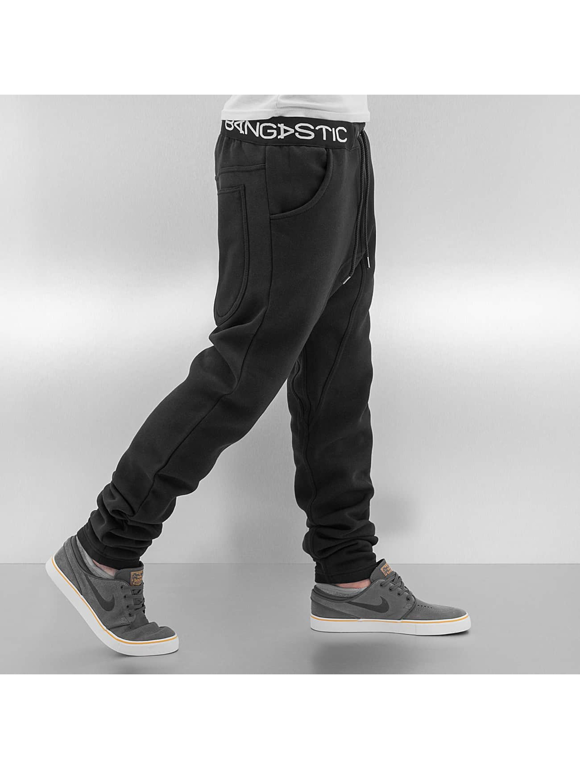 Bangastic joggingbroek Anti Fit zwart
