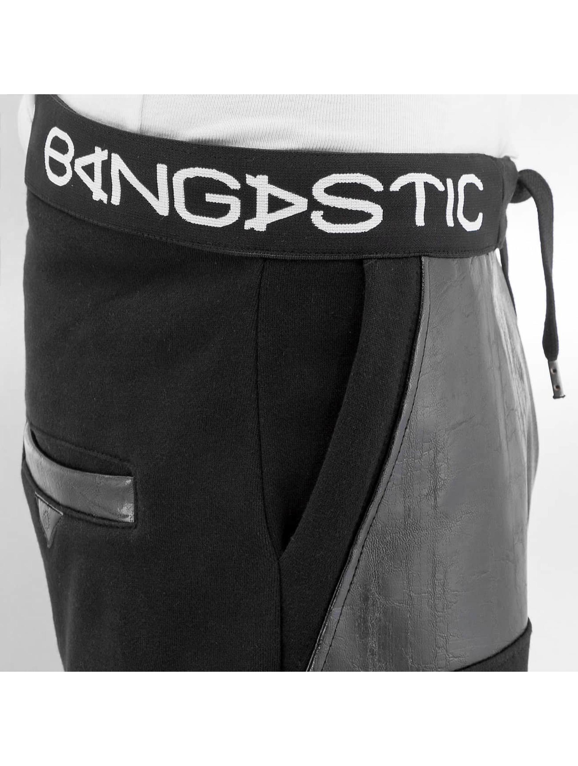 Bangastic joggingbroek BlacKGang zwart