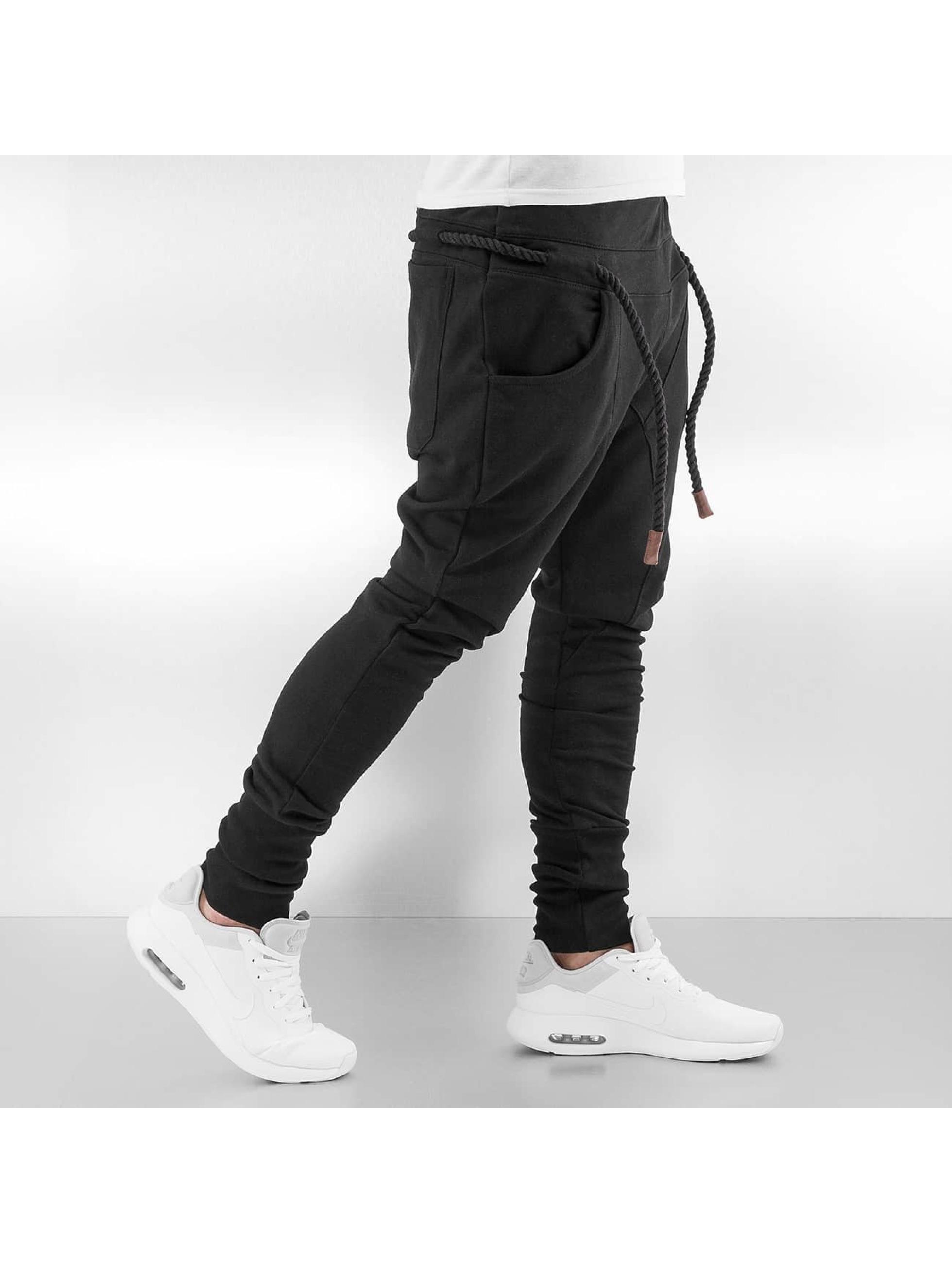 Bangastic joggingbroek Thick Drawstring zwart