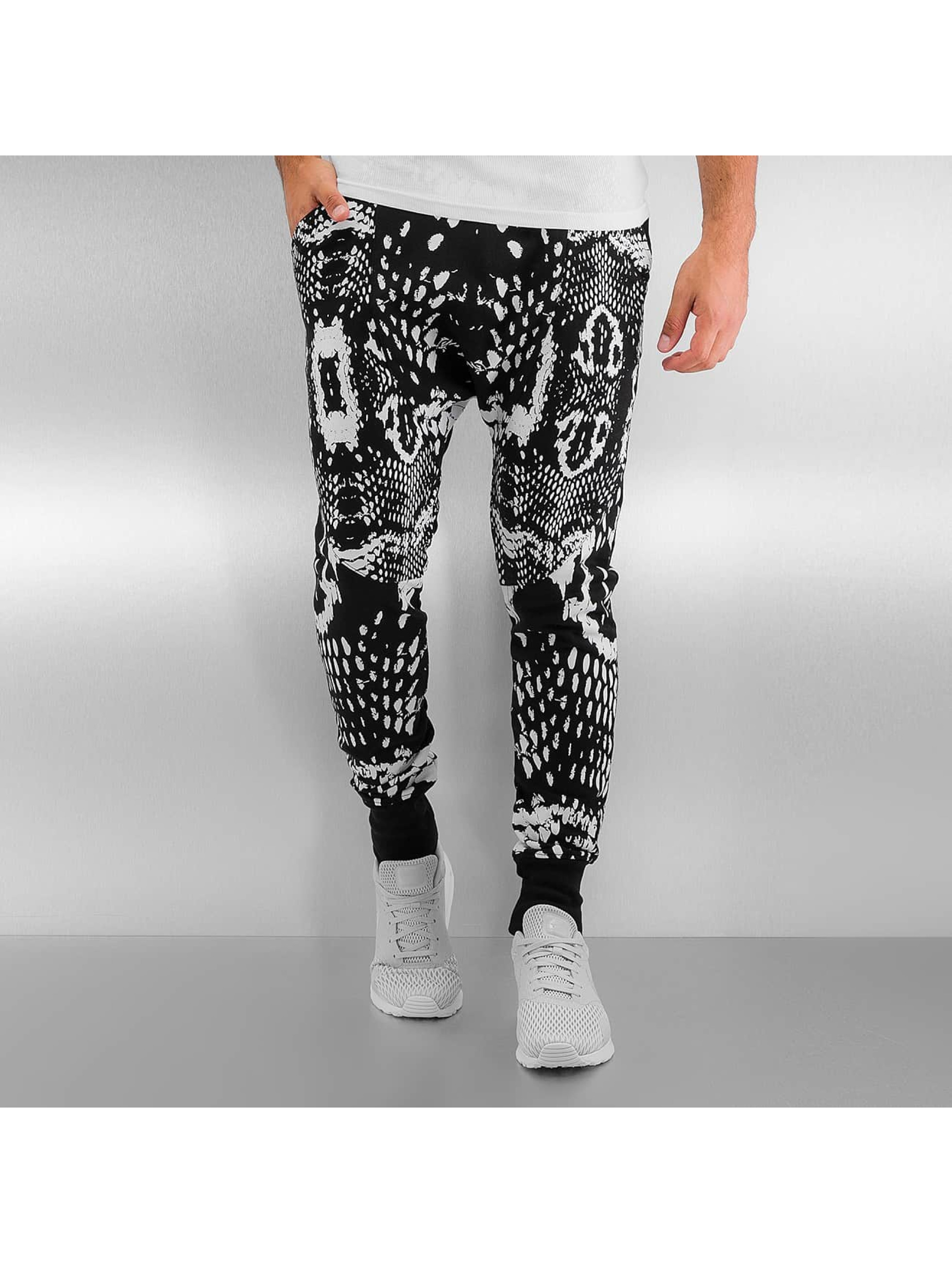 Bangastic joggingbroek Anti Slim Fit zwart
