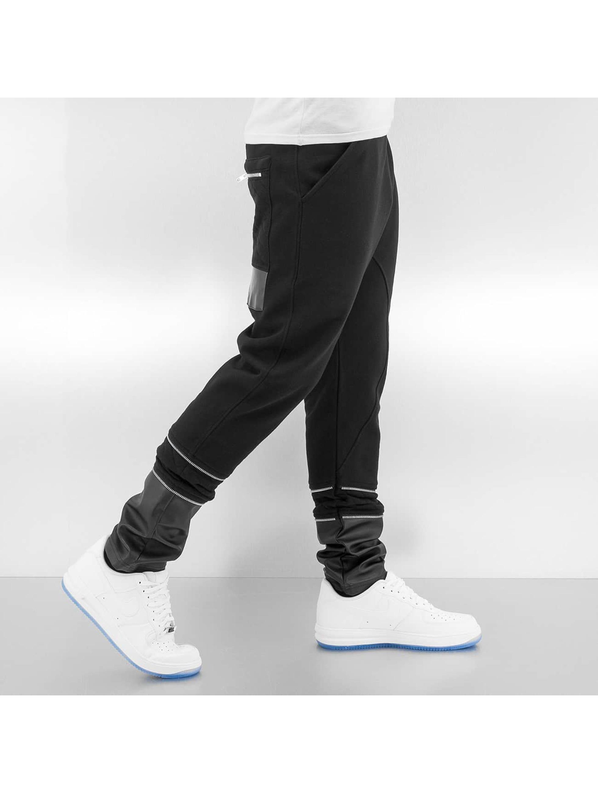 Bangastic Jogginghose Anti Fit II schwarz