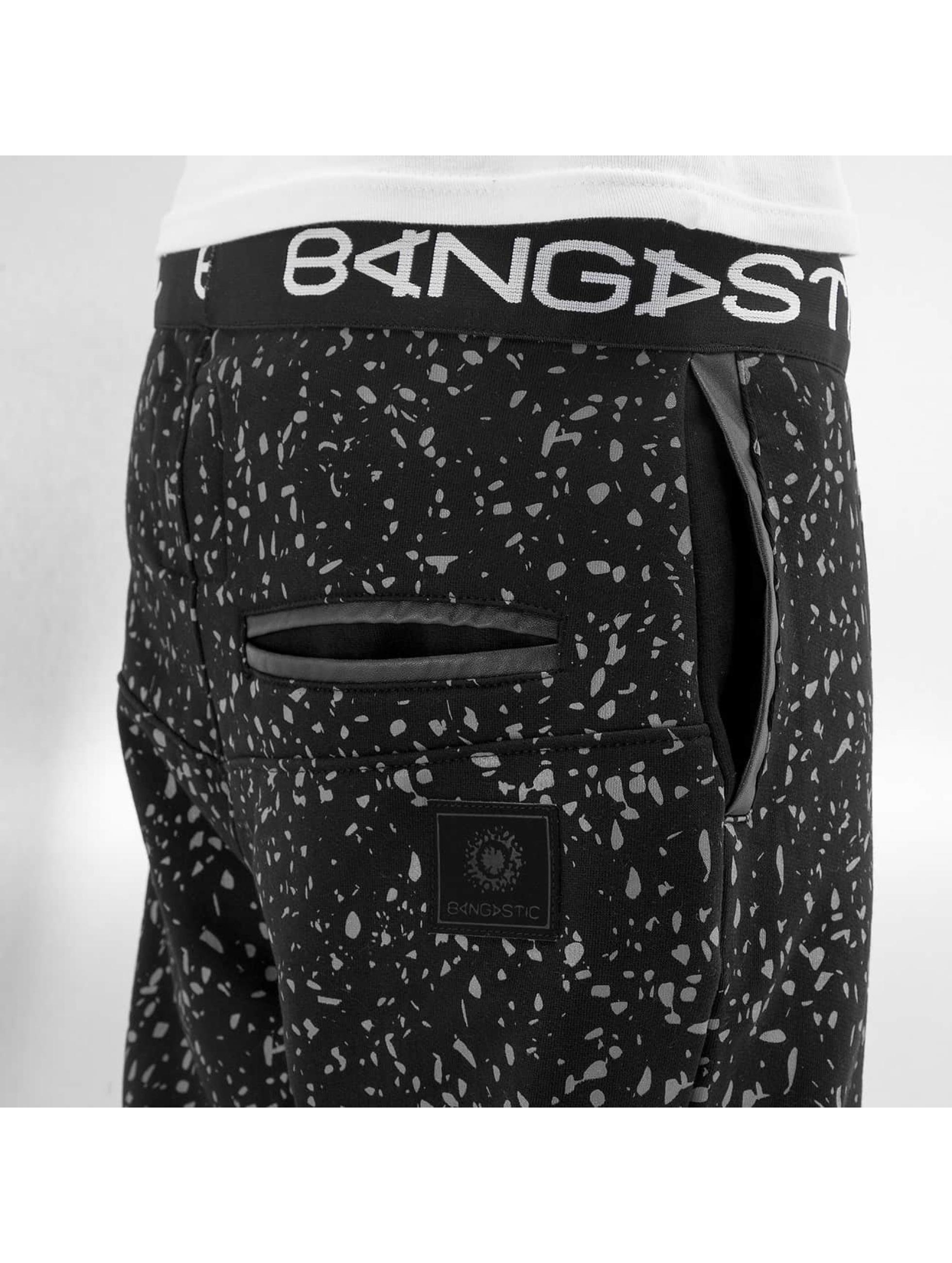 Bangastic Jogginghose Speckle schwarz