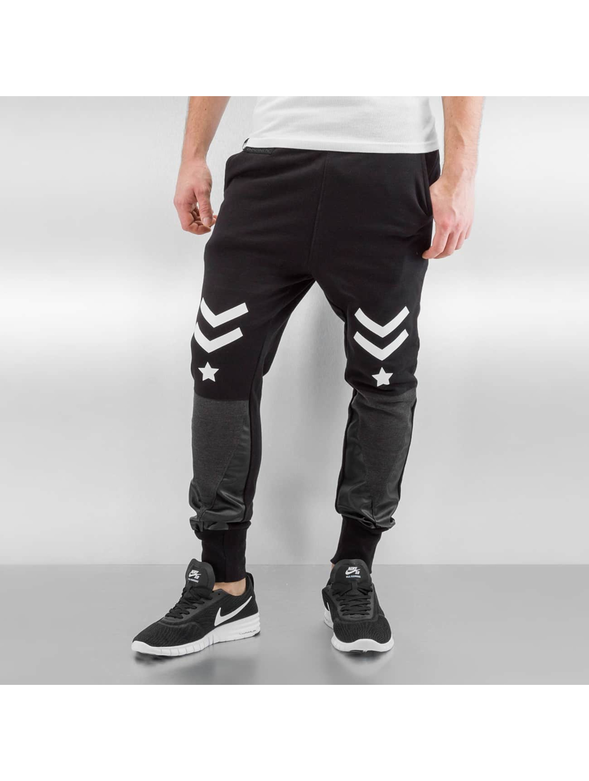 Bangastic Jogginghose Stars schwarz