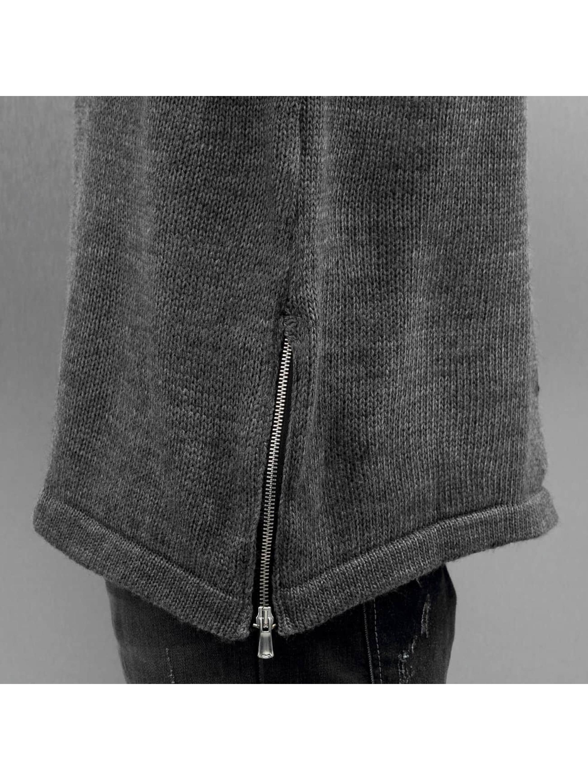 Bangastic Maglietta a manica lunga Hoimar grigio
