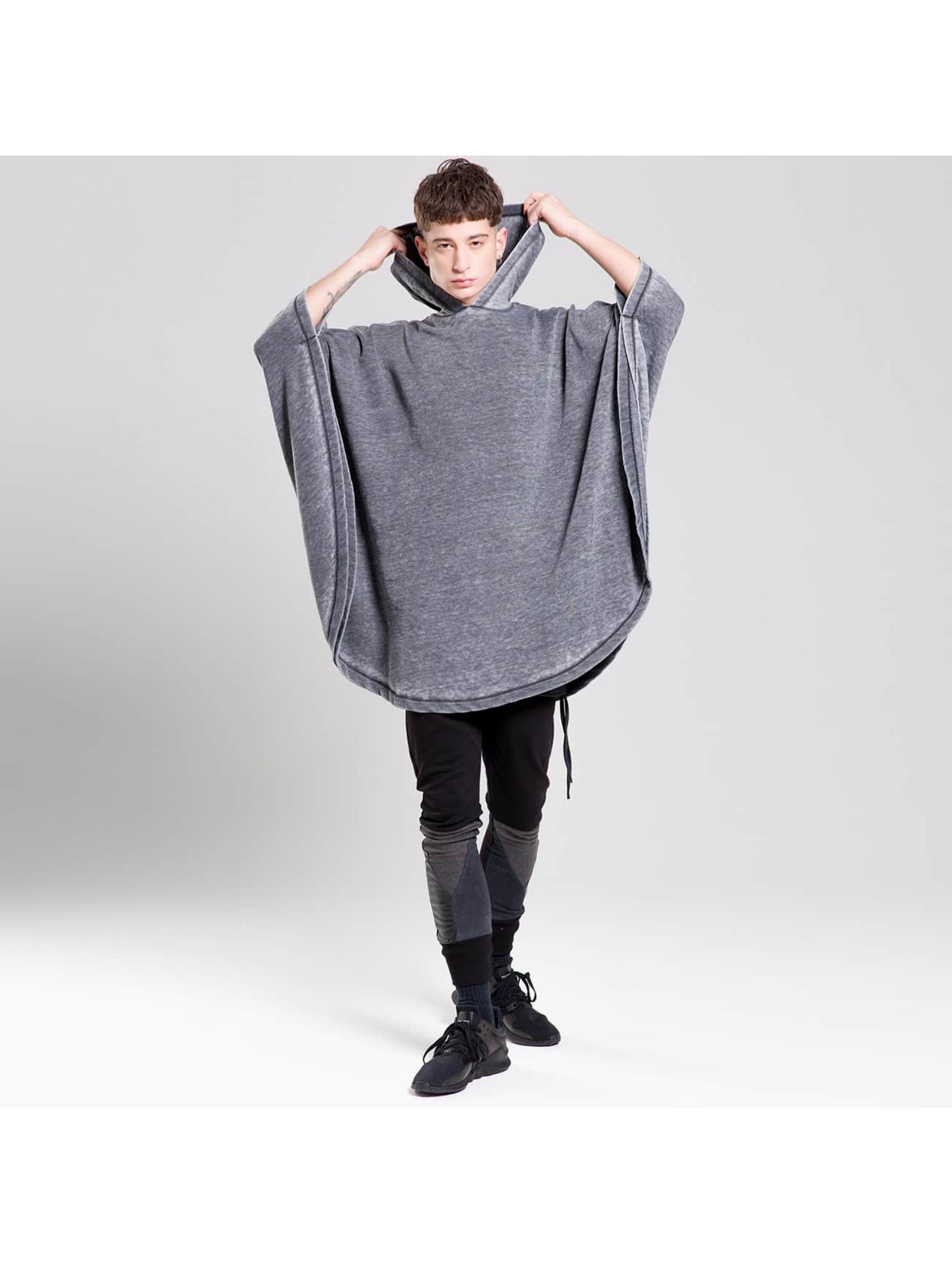 Bangastic Maglietta a manica lunga Moak grigio