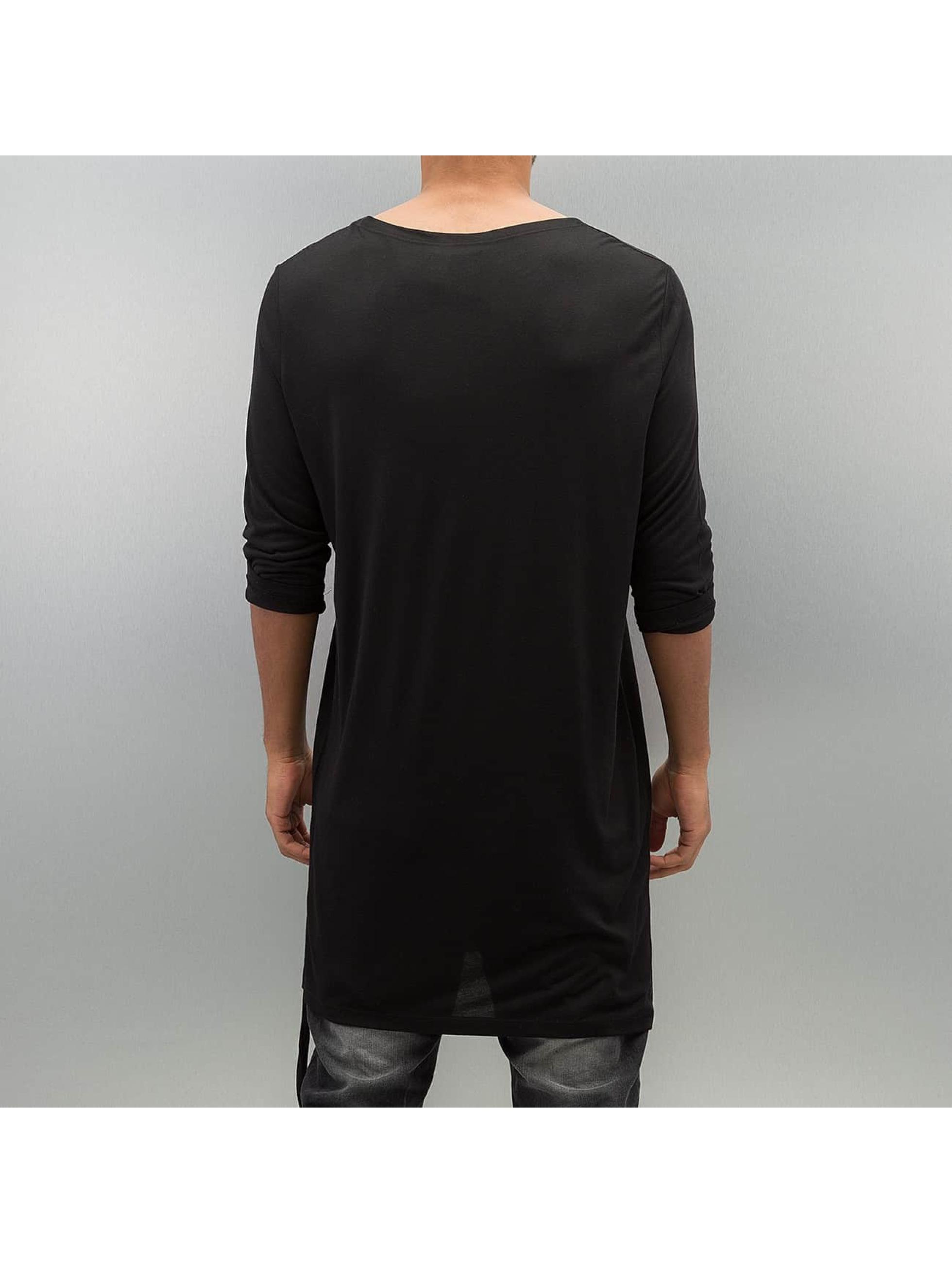 Bangastic Maglietta a manica lunga Moak nero