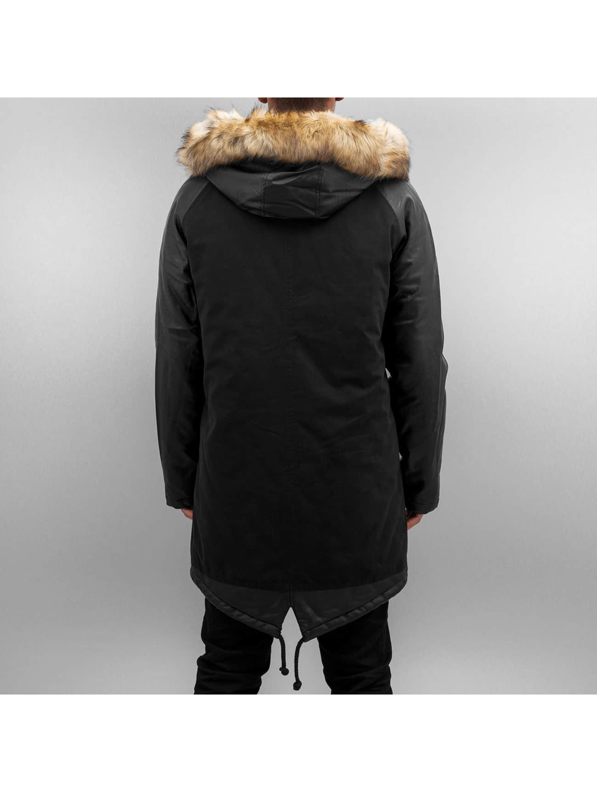 Bangastic Mantel PU Sleeves schwarz