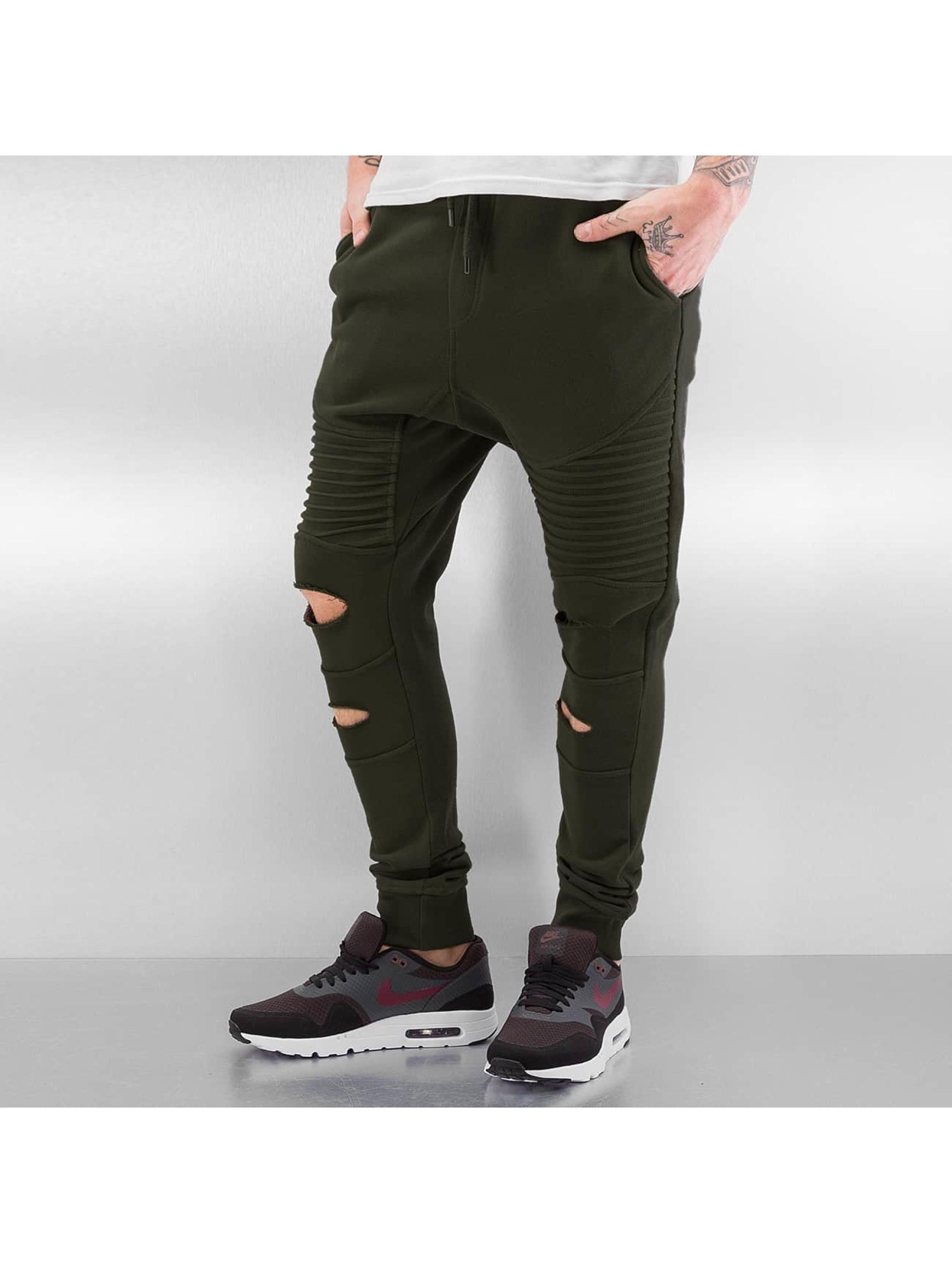 Bangastic Pantalón deportivo Fletcher oliva