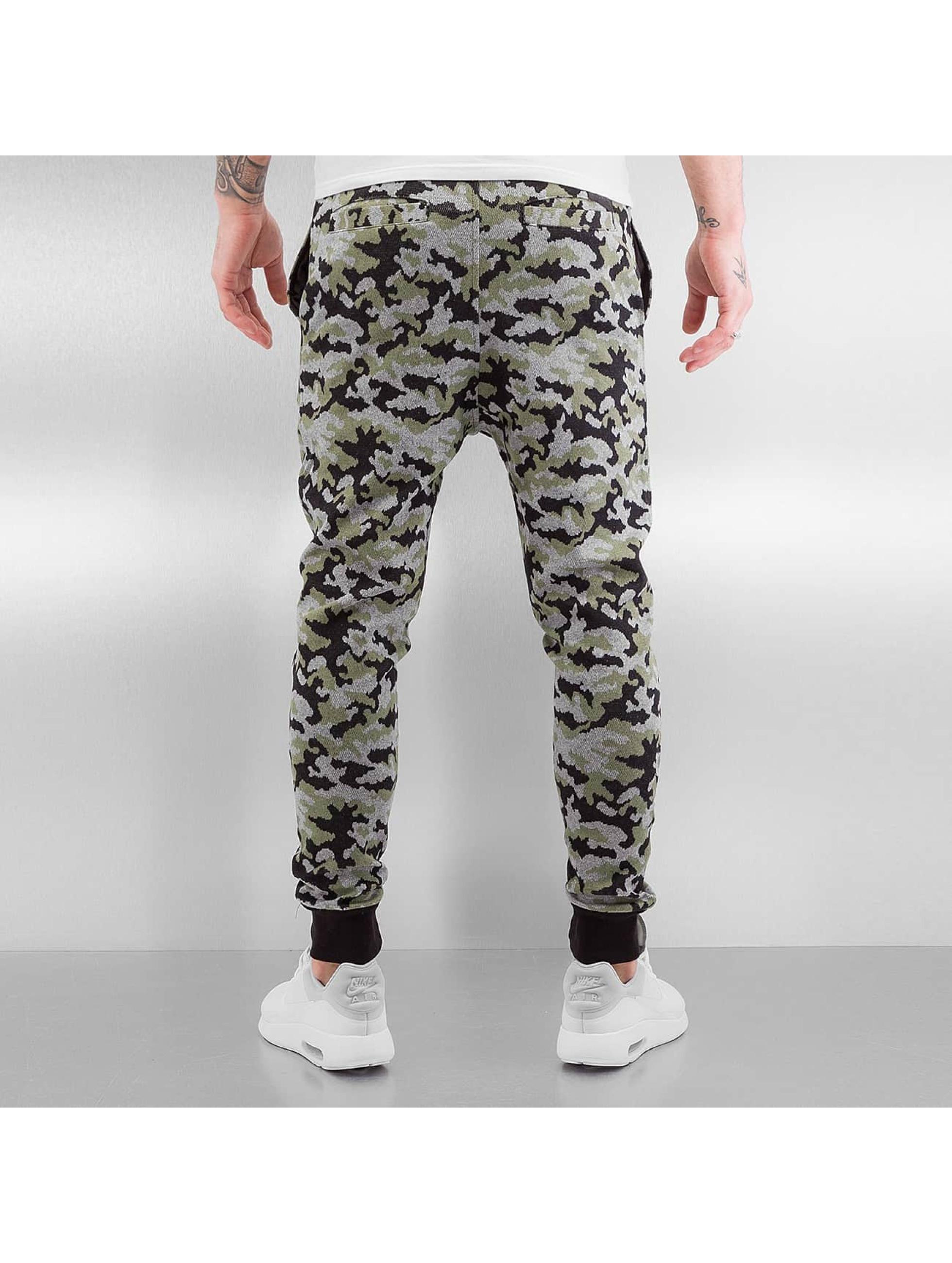 Bangastic Pantalone ginnico Rob mimetico