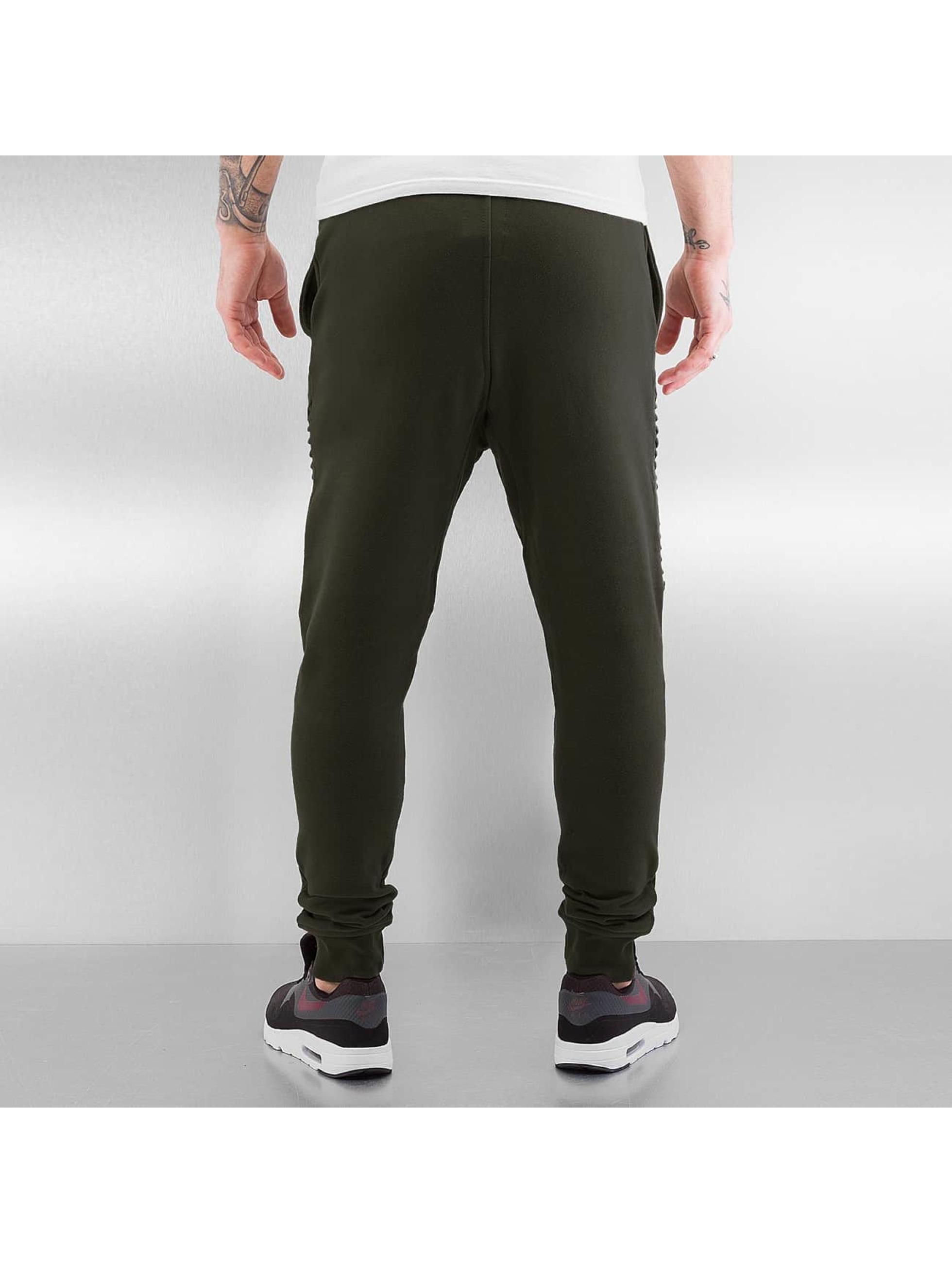 Bangastic Pantalone ginnico Fletcher oliva