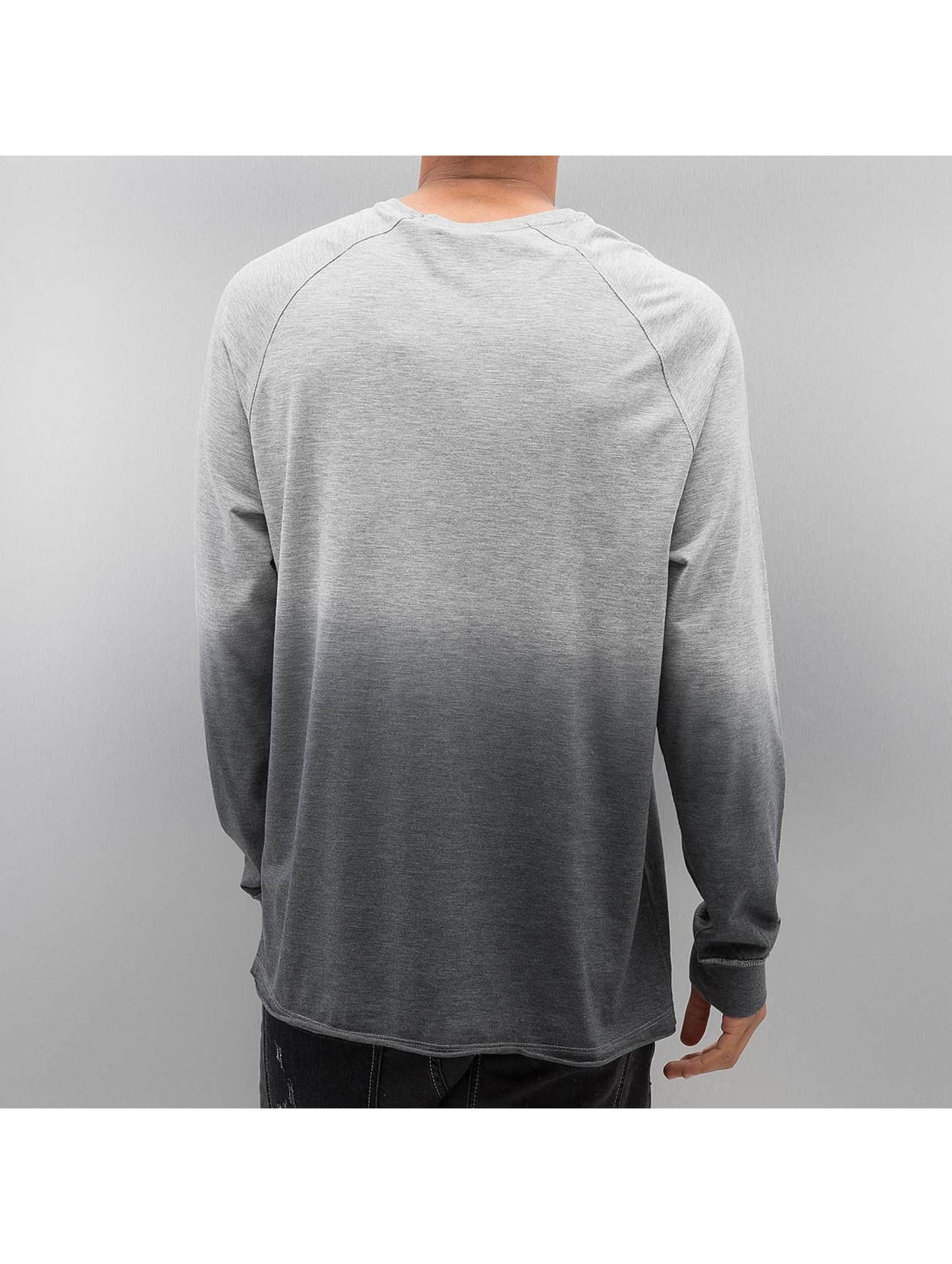 Bangastic Pitkähihaiset paidat AE189 Oversize harmaa