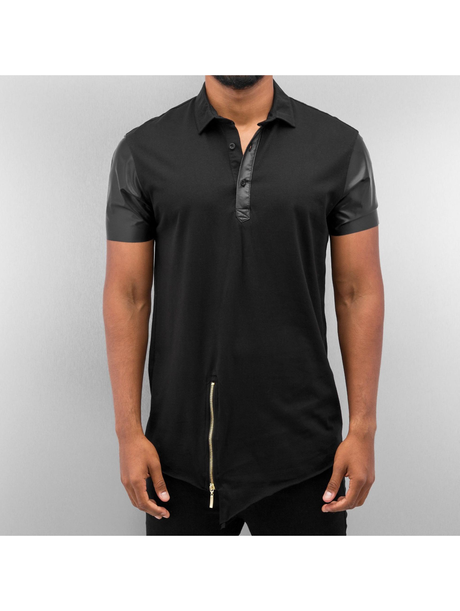 Bangastic Poloshirt PU schwarz