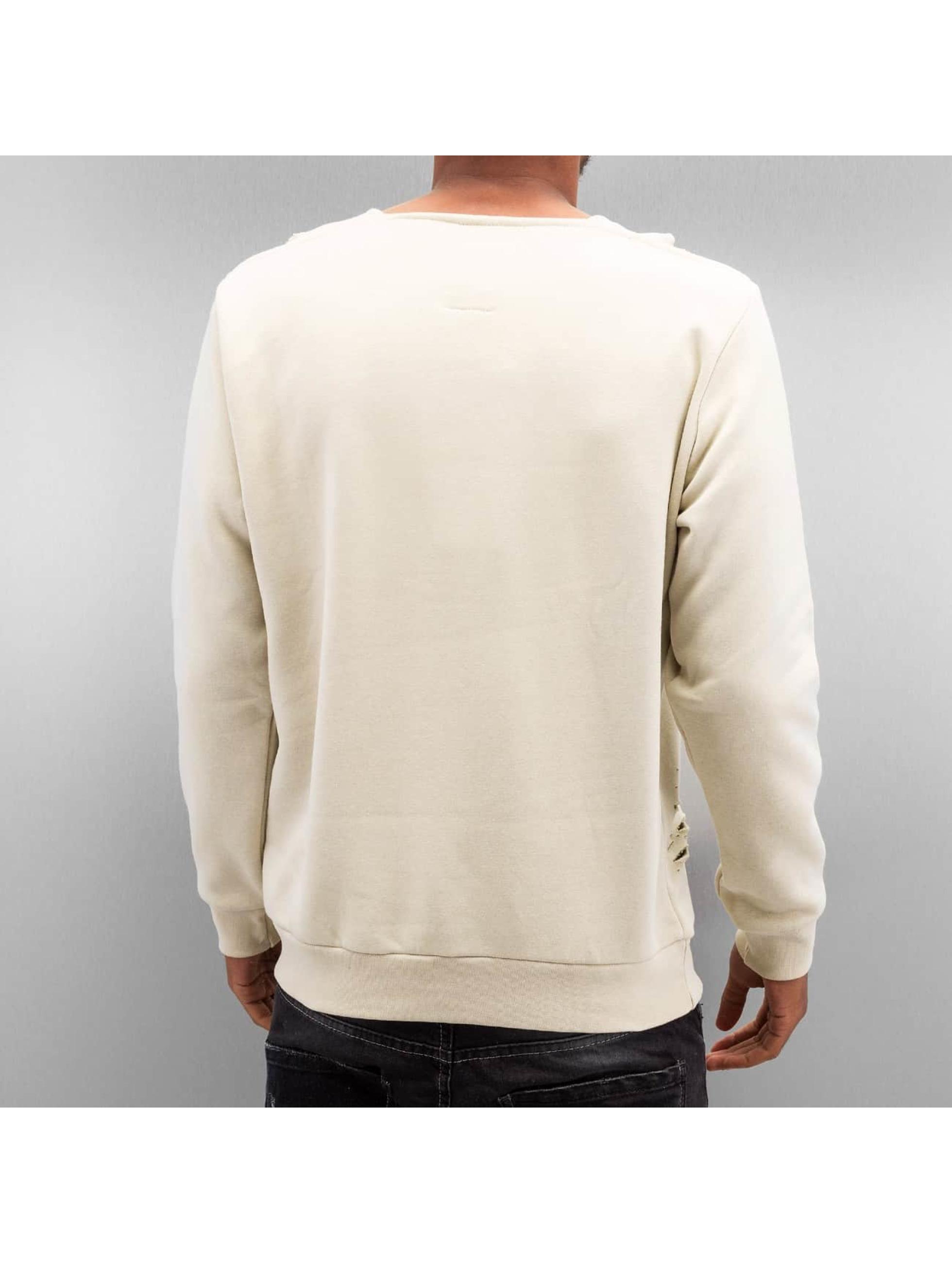 Bangastic Pullover Destroyed beige